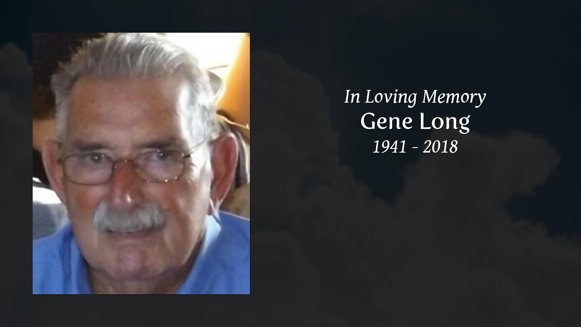 Obituary for Gene Long | Westside Chapel Funeral Home