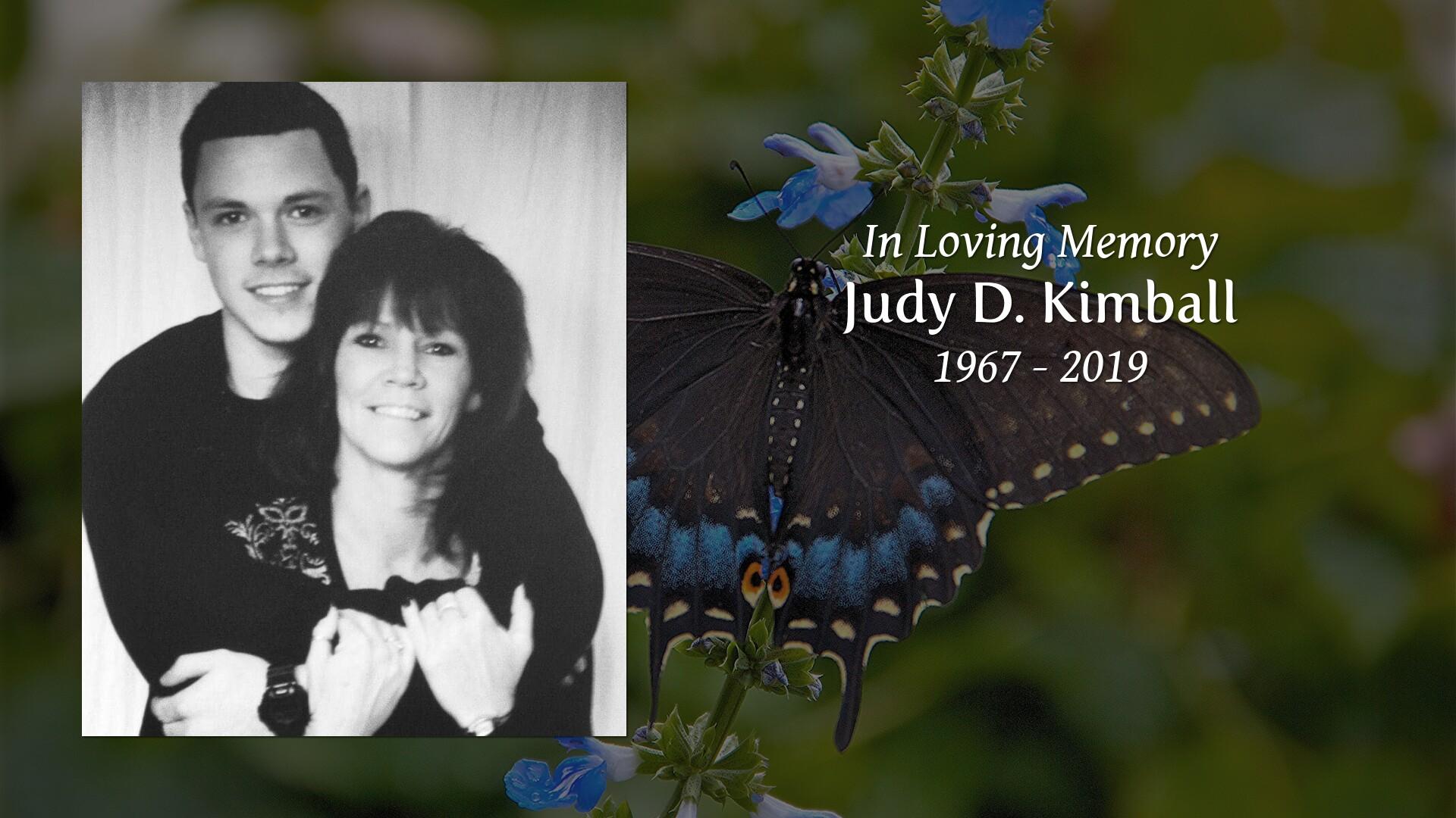 New Comer Family Obituaries - Judy D  Kimball 1967 - 2019