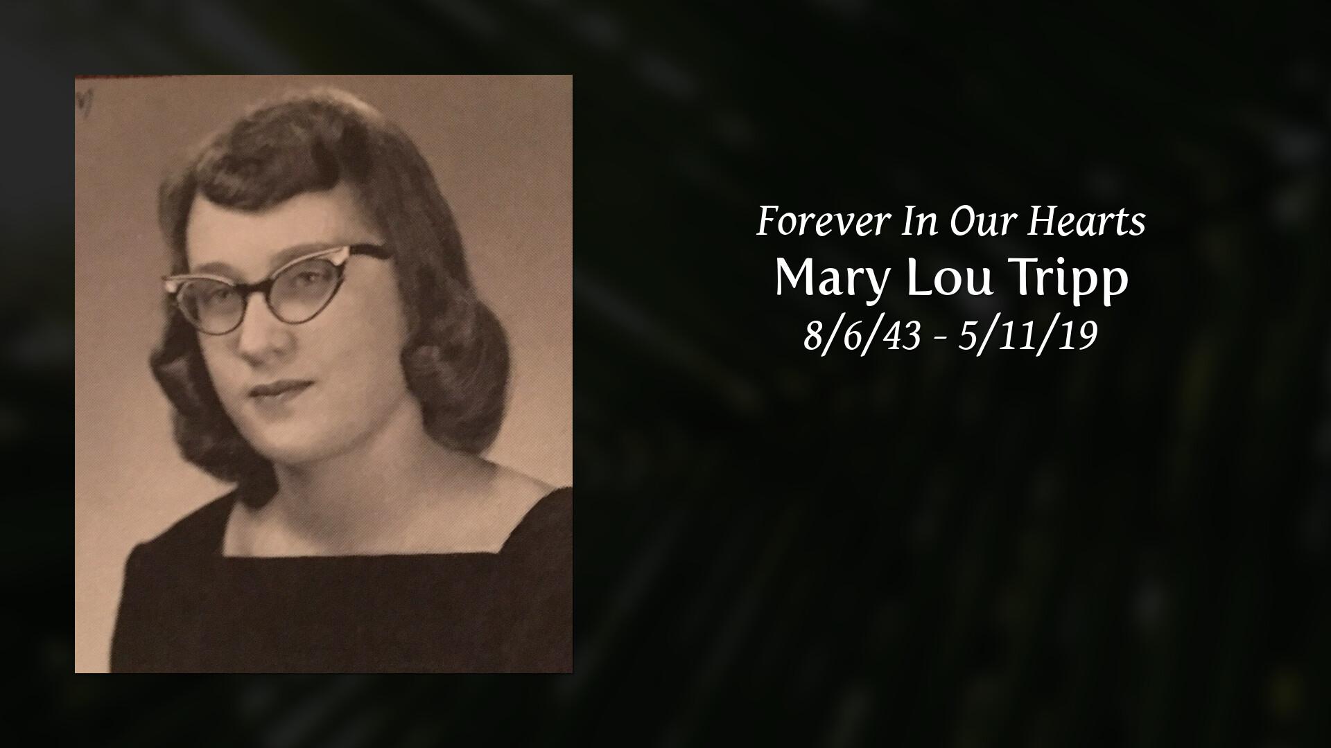 Obituary | Mary Lou Tripp of Belle Fourche, South Dakota