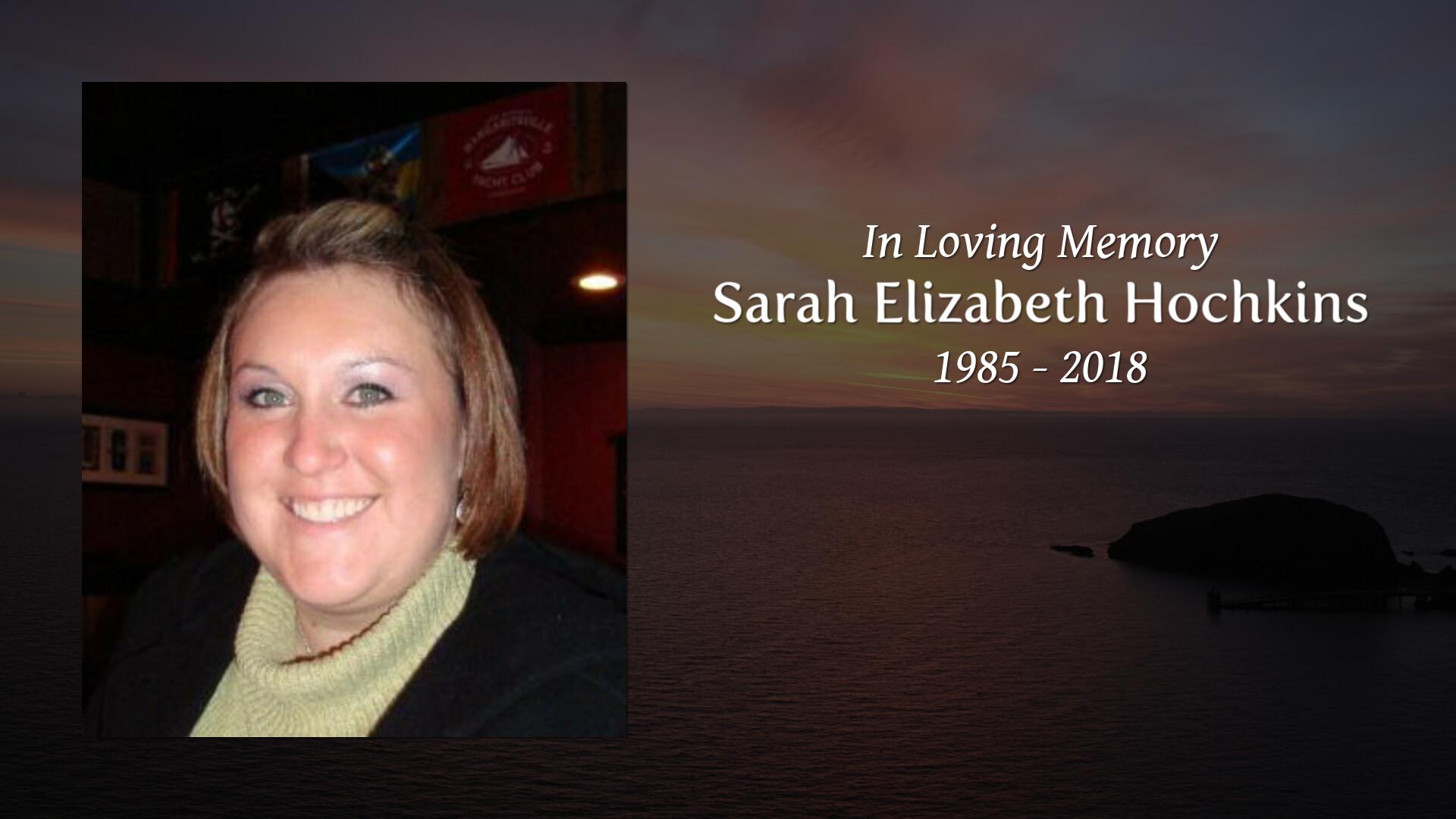 Obituary of Sarah Elizabeth Hochkins | Logan Funeral Home