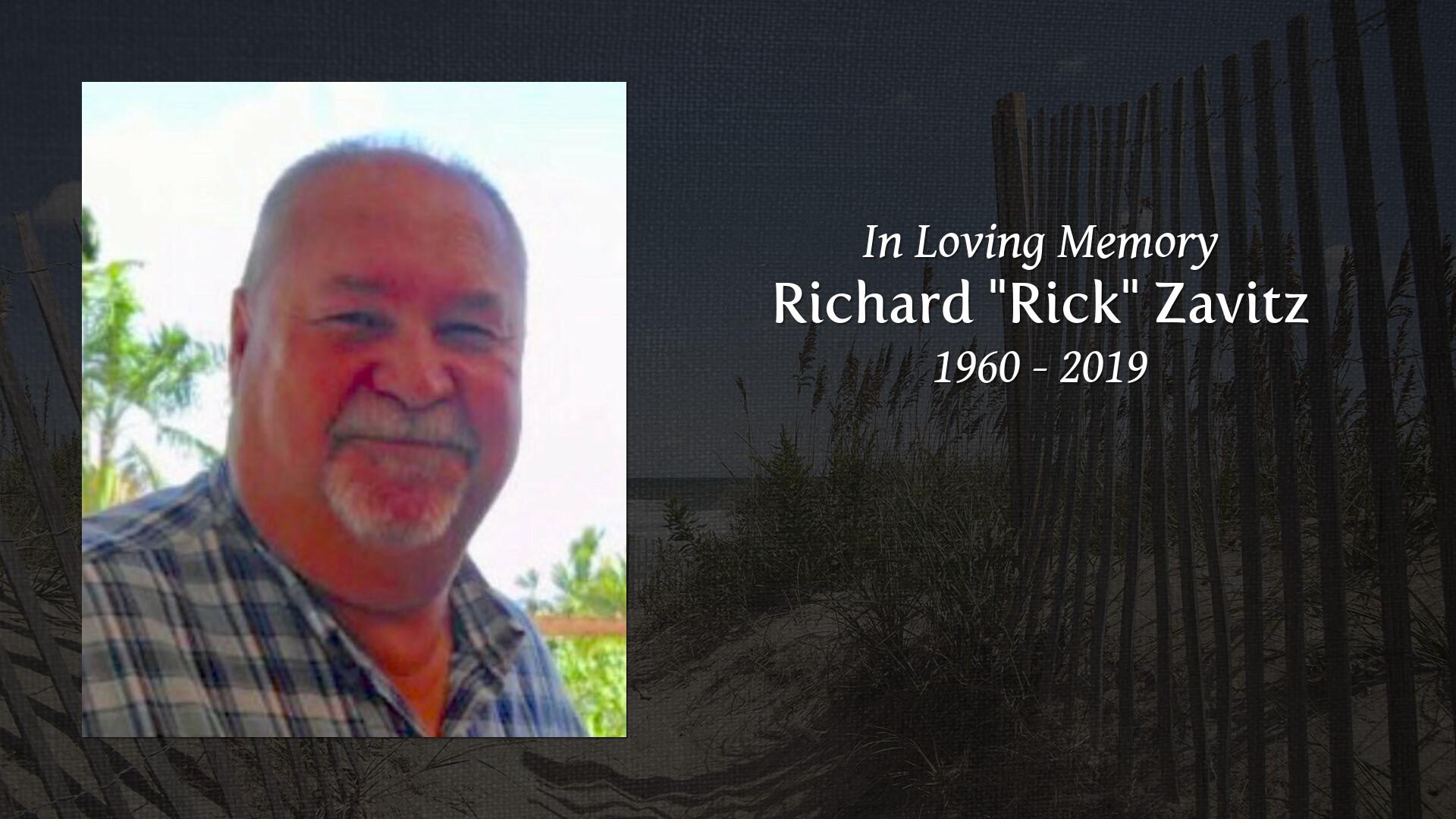 Obituary of Richard Donald Zavitz | Welcome to Badder