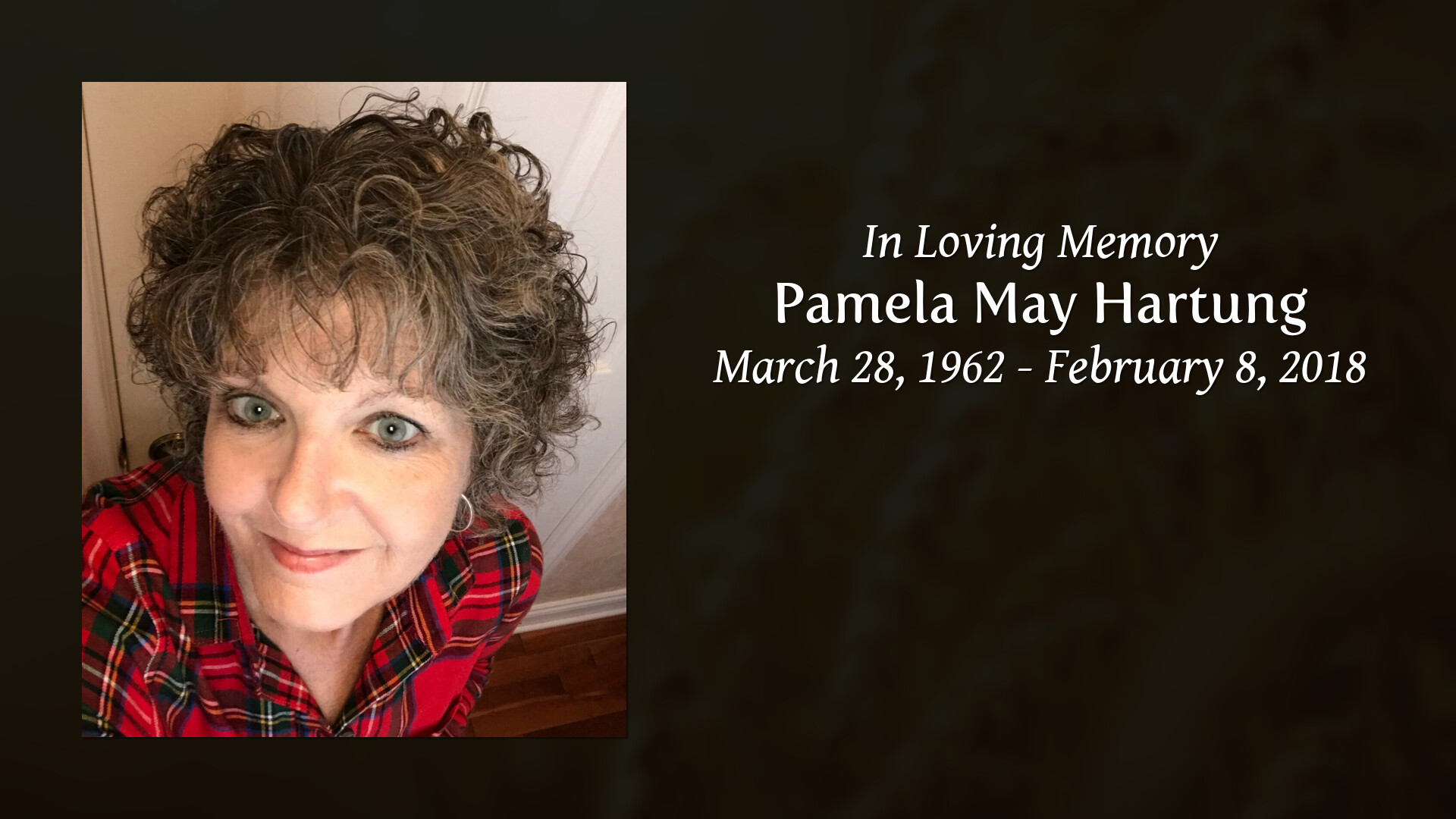 Obituary For Pamela May Hartung Schultz Funeral Homes
