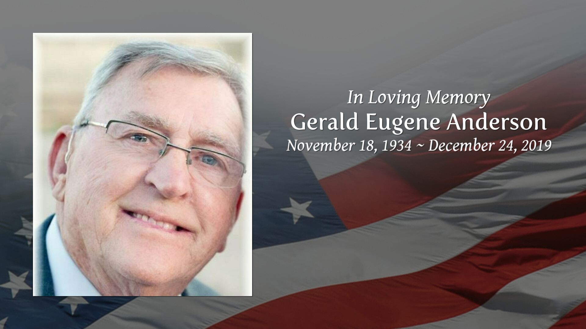 Obituary Gerald Eugene Anderson Of Deming New Mexico