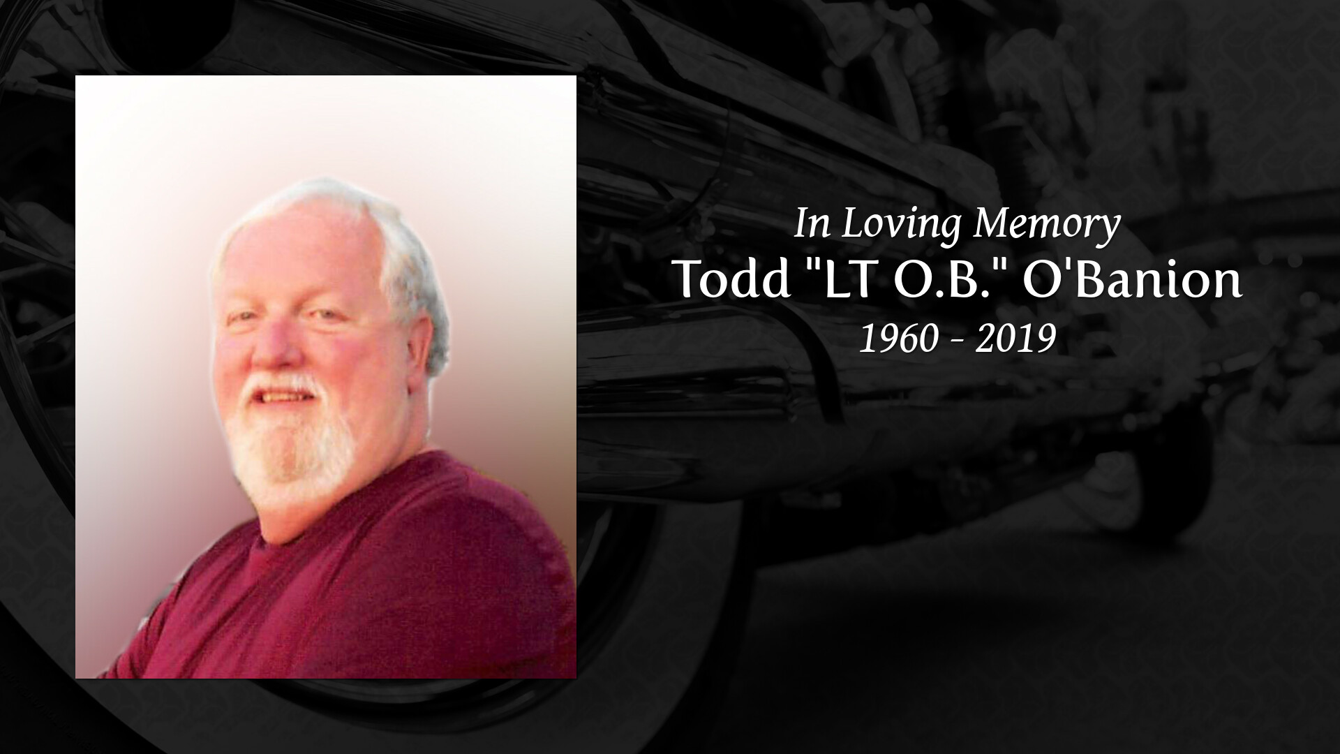 Obituary for Todd