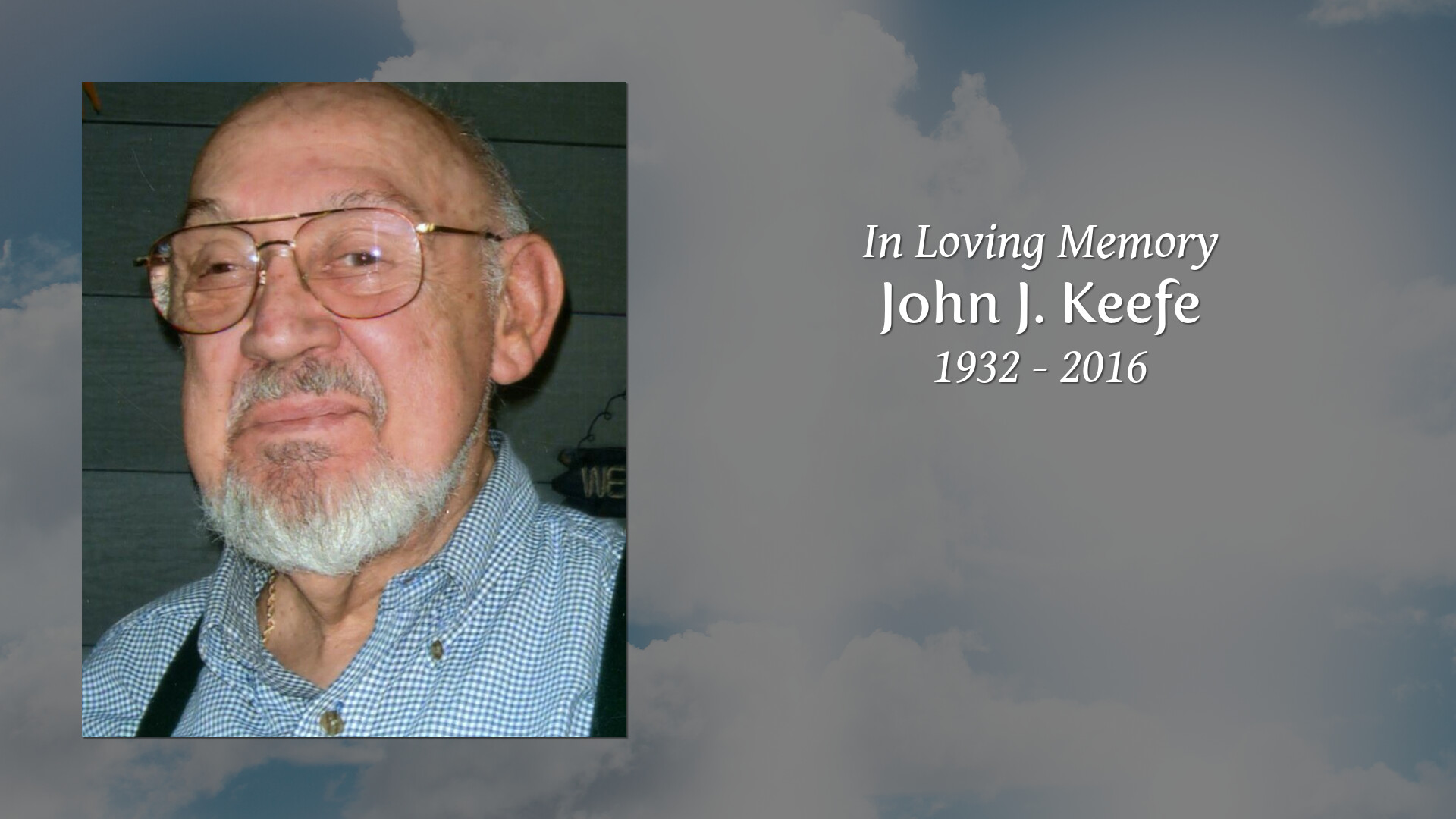 Obituary for John J  Keefe | Bryce Funeral Home, Troy, NY