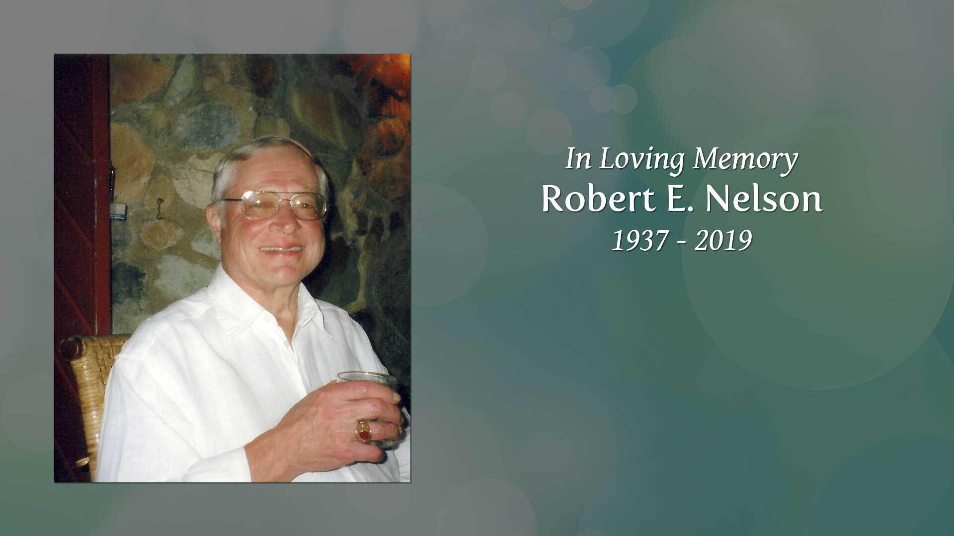 Robert Nelson Obituary, Niantic, CT | Thomas L  Neilan & Sons
