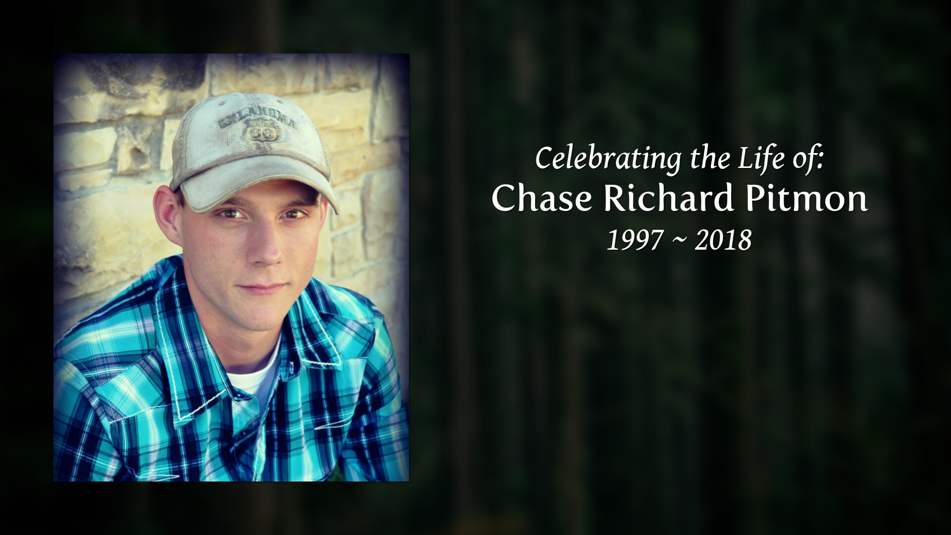 Current Services for Chase Richard Pitmon | Tishomingo Funeral Home
