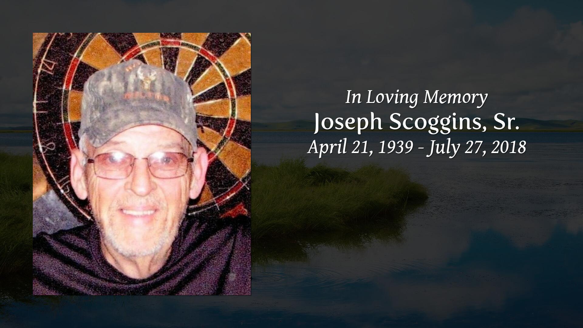 Obituary for Joseph Scoggins, Sr  | Sullivan's Highland