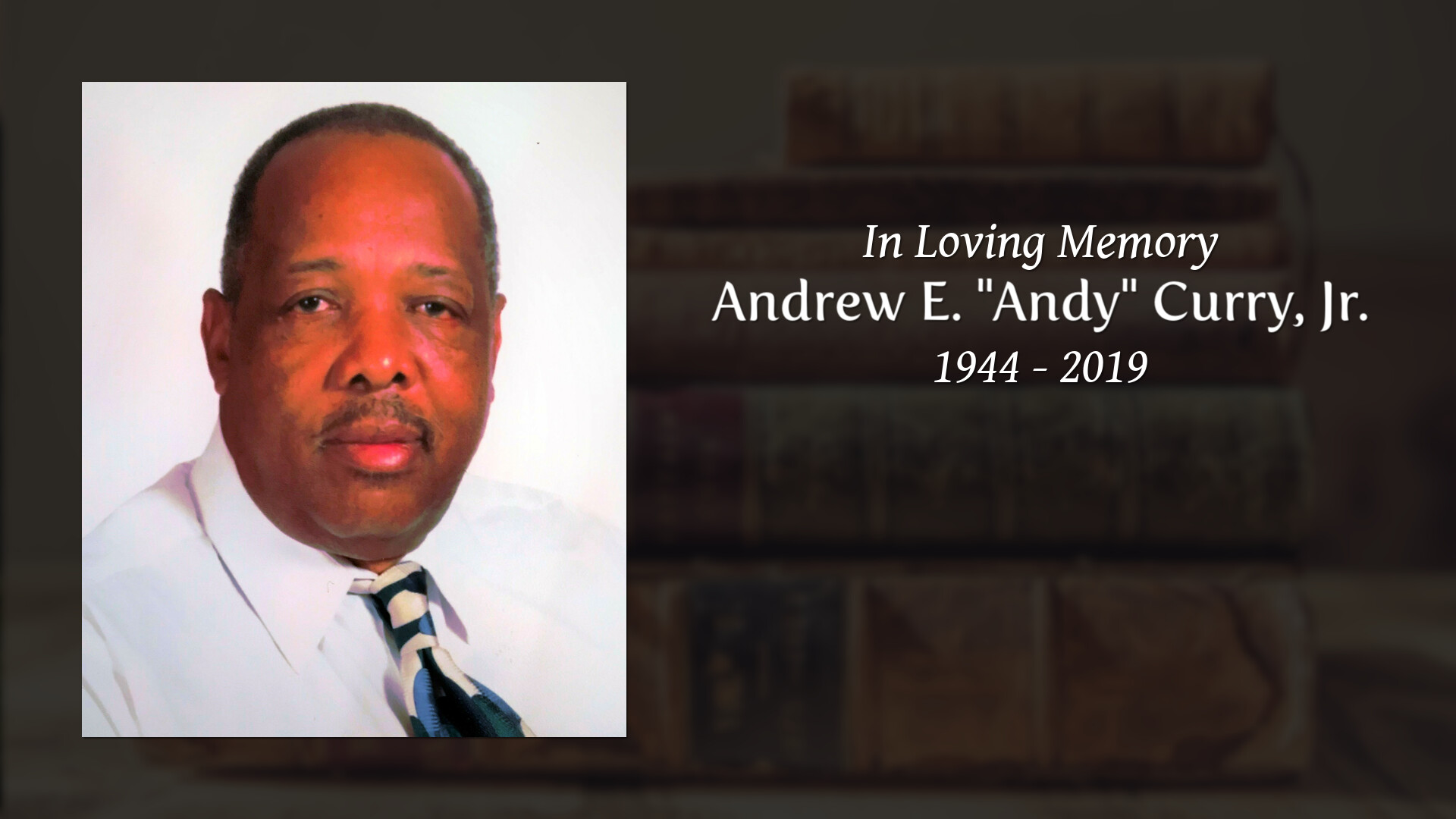 """Andrew E  """"Andy"""" Curry, Jr  - Spicer-Mullikin Funeral Homes"""