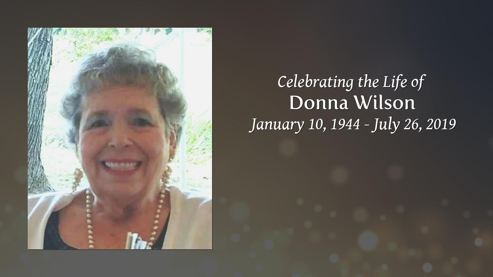 Obituary | Donna Wilson of Stockbridge, Georgia | Moody