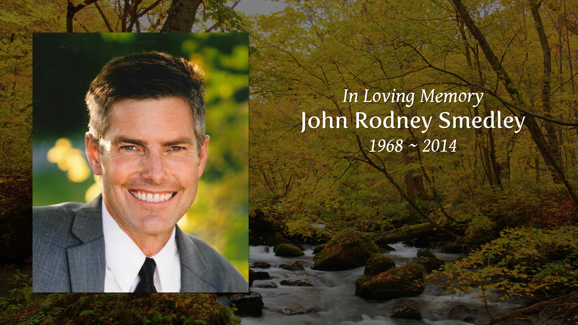 John Smedley Obituary - Colonial Funeral Home
