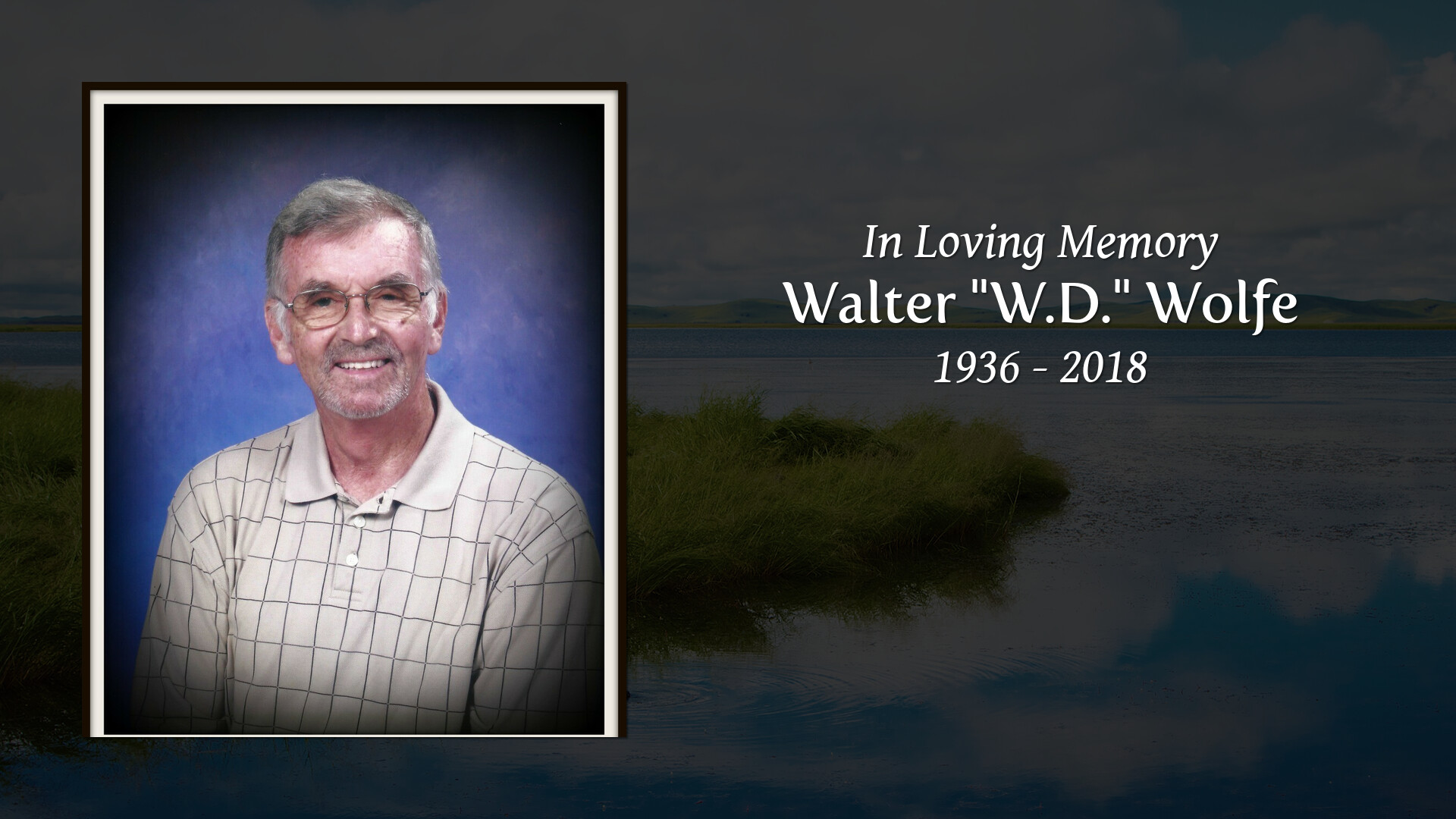 Obituary for Walter
