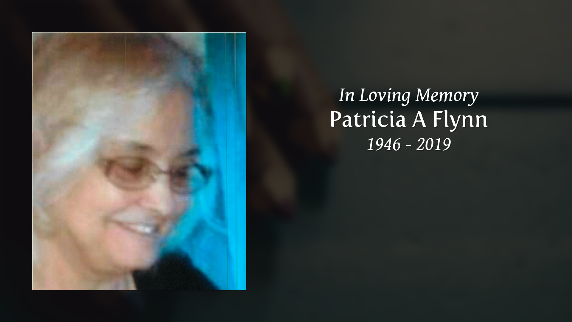 Newcomer Family Obituaries - Patricia A Flynn 1946 - 2019 - Newcomer