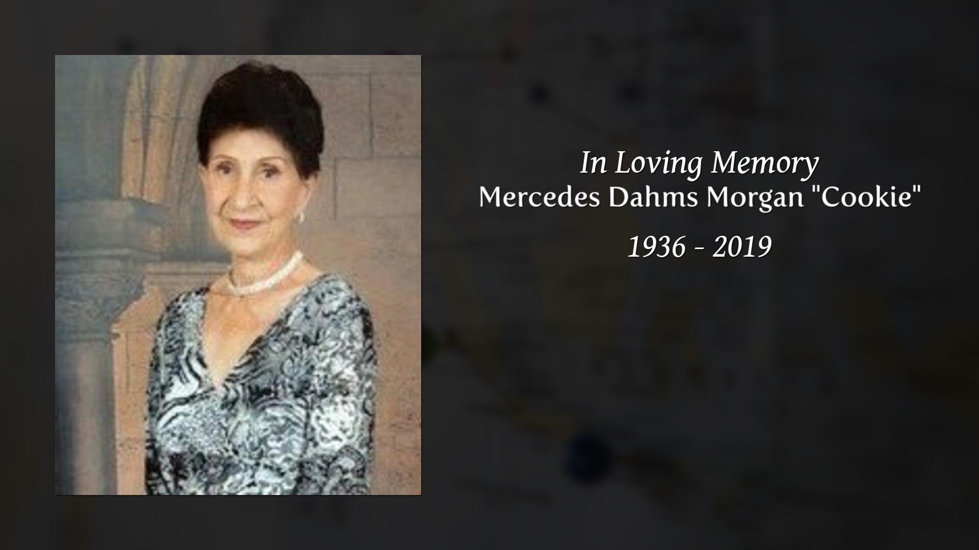 Obituary of Mercedes Dahms Morgan
