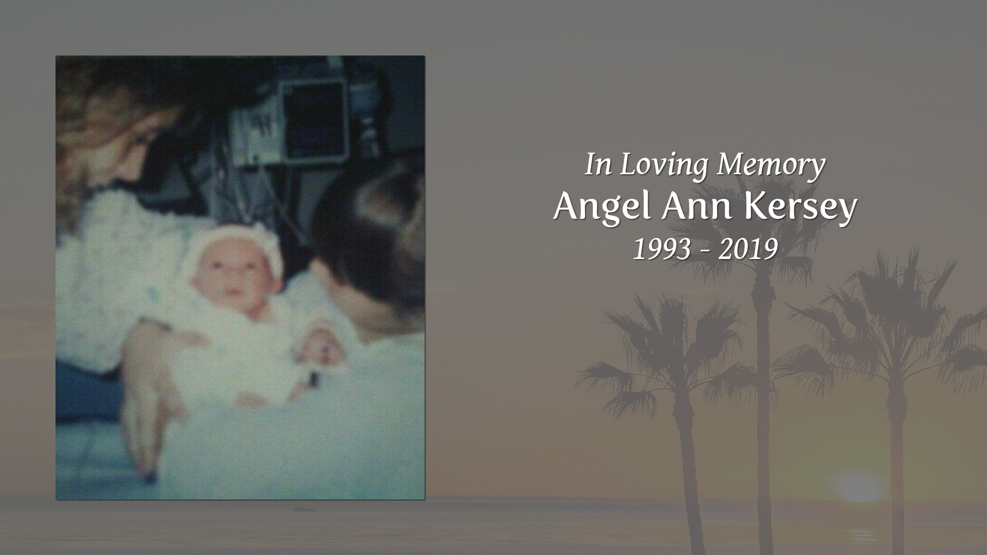 Obituary for Angel Ann Kersey | O'Quinn-Peebles-Phillips Funeral