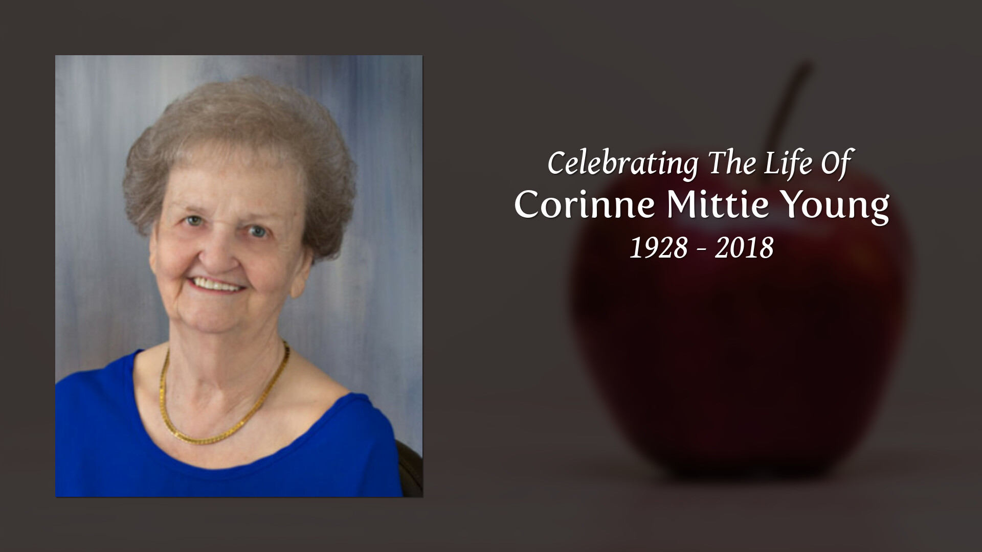 Obituary for Corinne Mittie (Cherry) Young | Welch Funeral Home