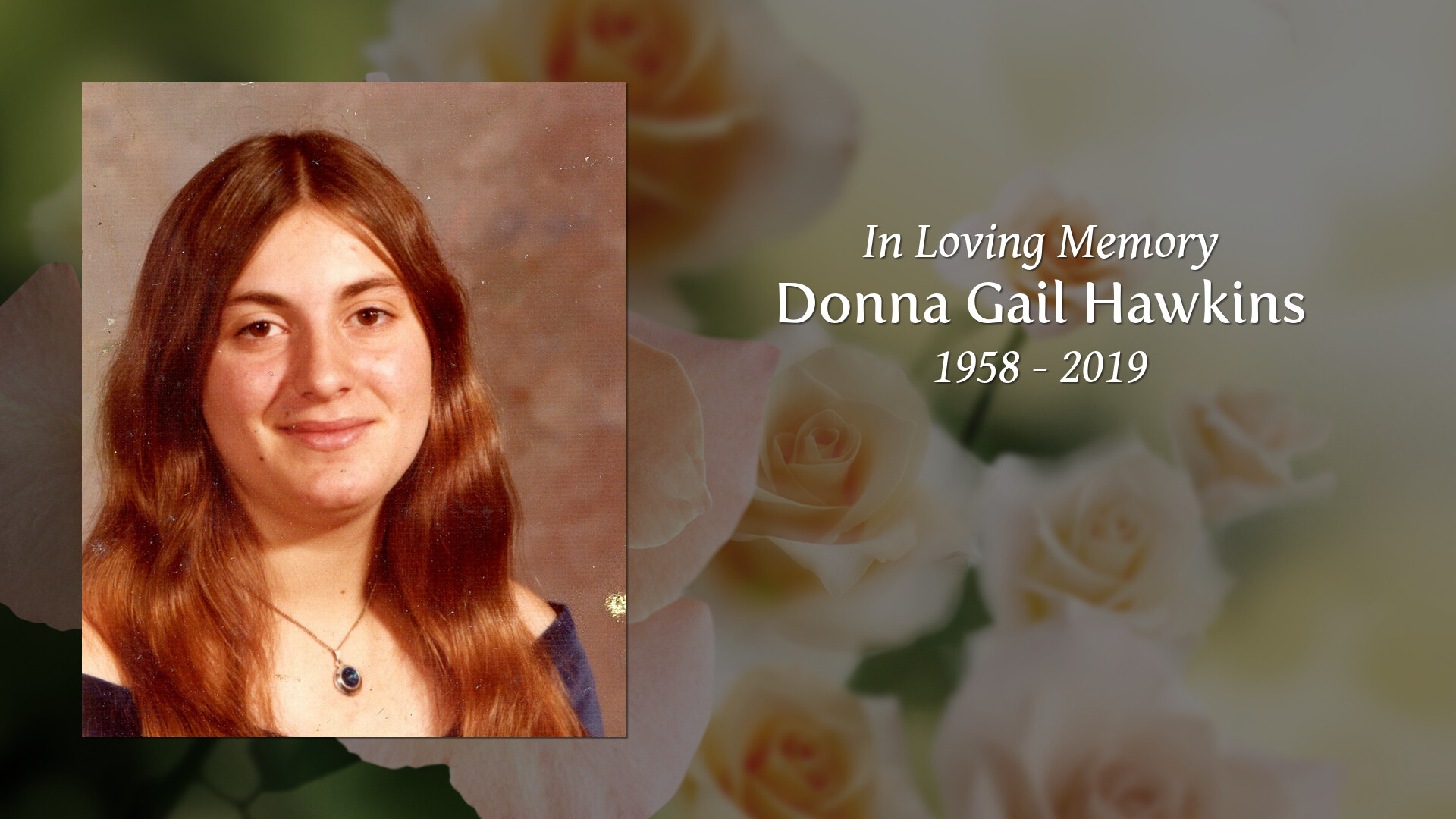 2f4d6526a2 Newcomer Family Obituaries - Donna Gail Hawkins 1958 - 2019 ...