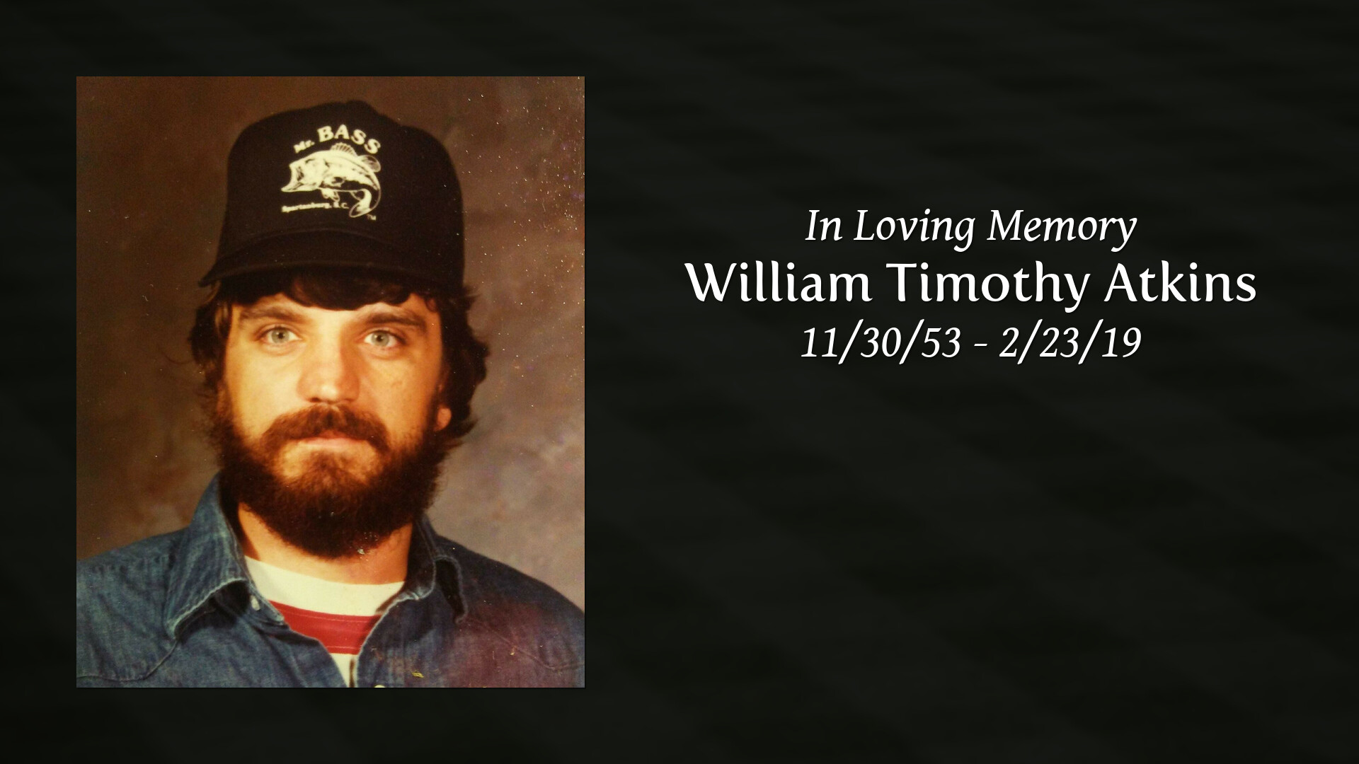 Obituary | William Timothy Atkins of Reidville, South