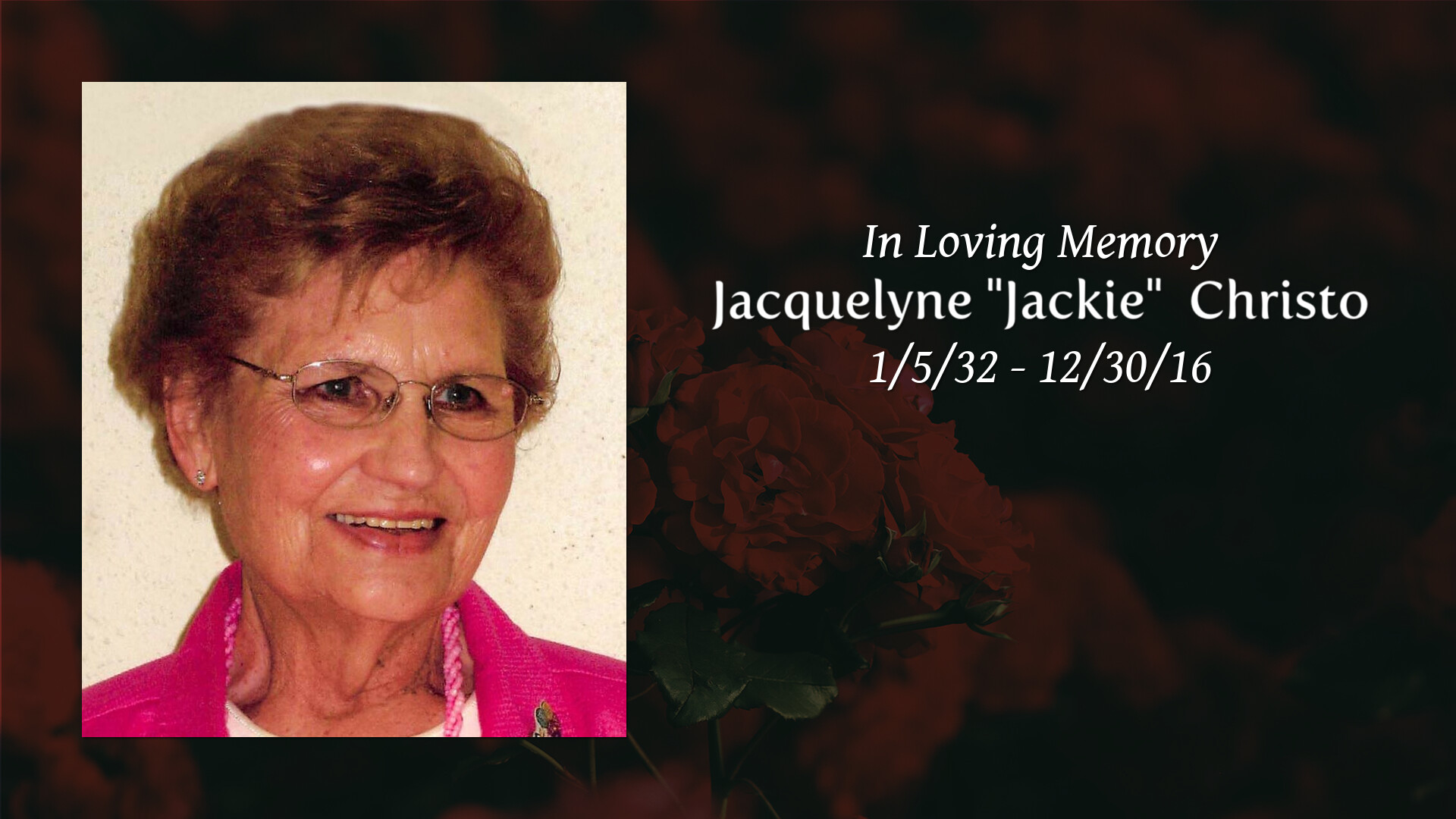 Obituary Marjorie M J Beeson Levander Funeral Homes