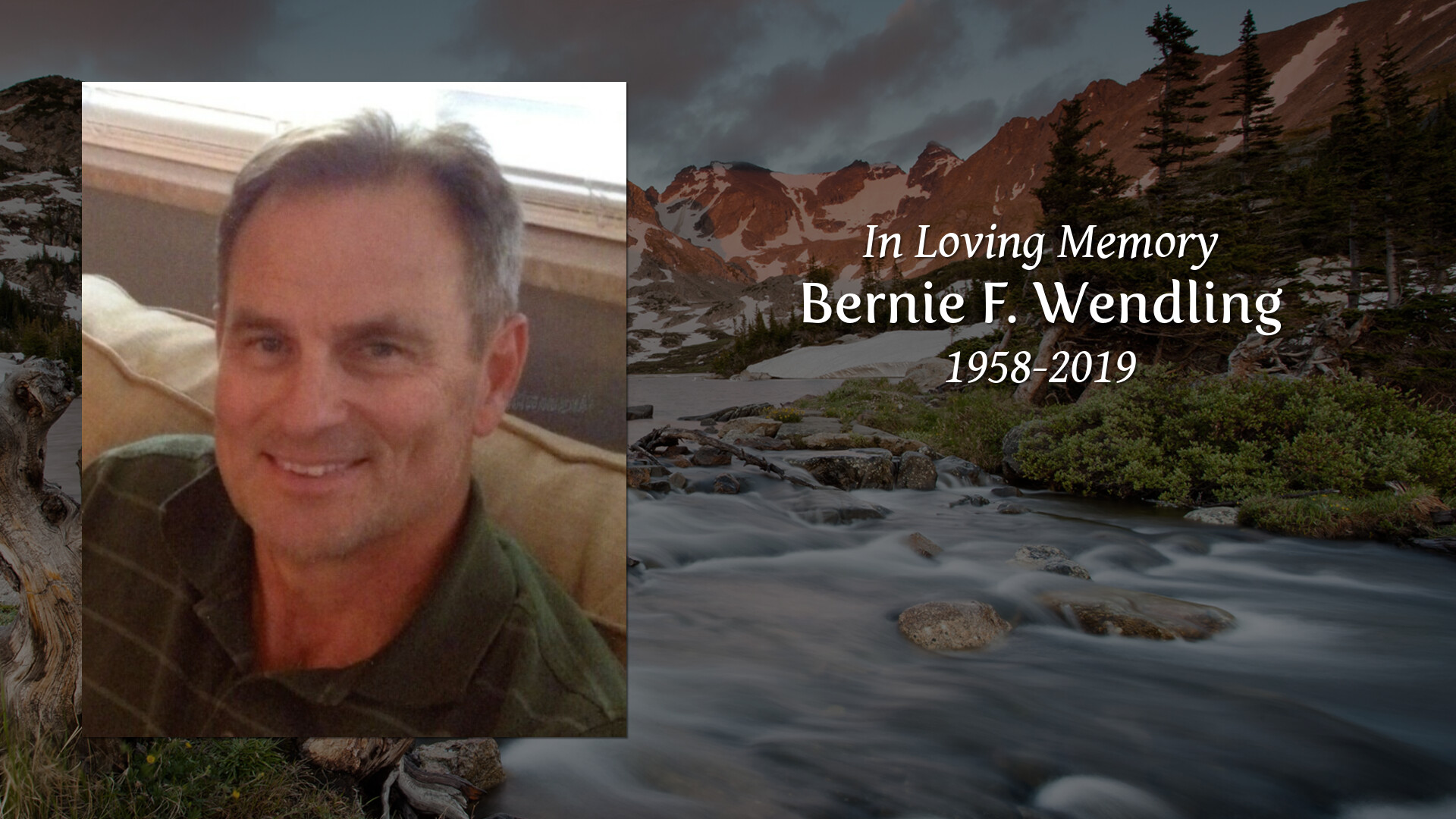 Newcomer Family Obituaries - Bernie F  Wendling 1958 - 2019