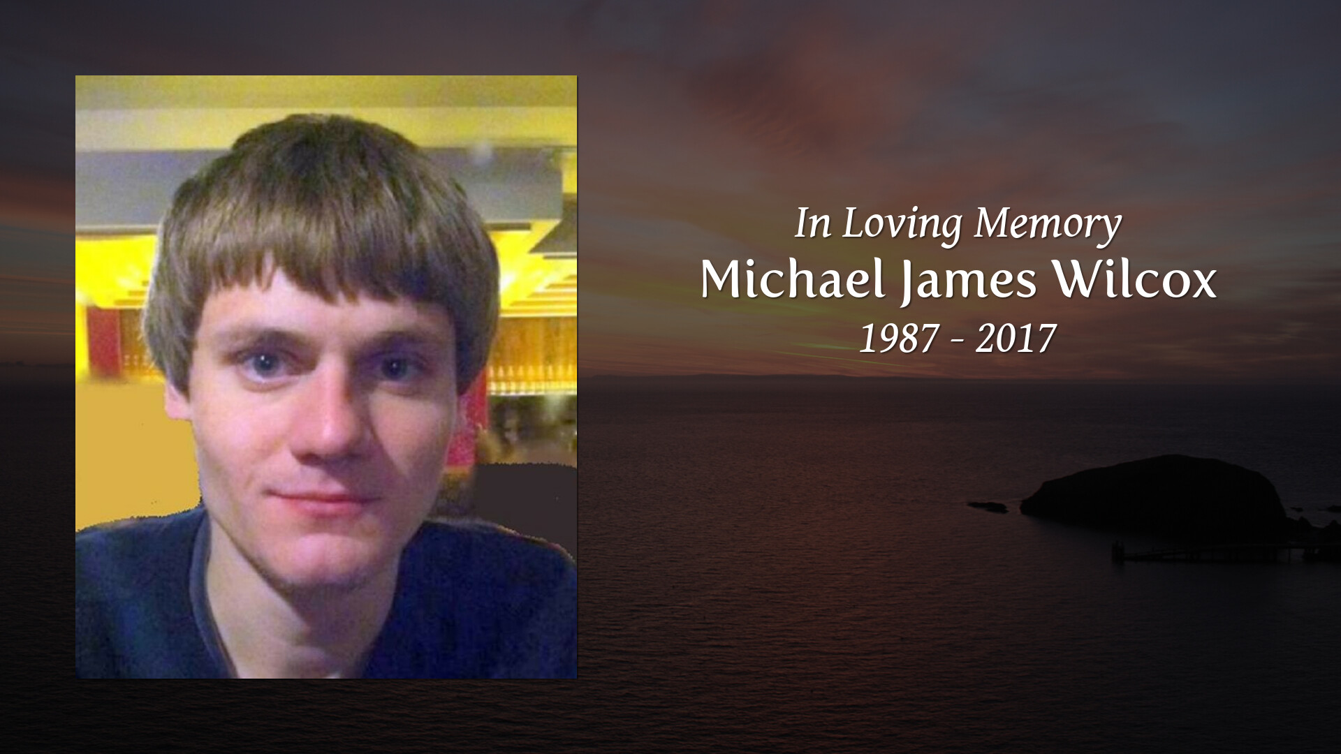 Michael Wilcox Obituary - Colonial Funeral Home