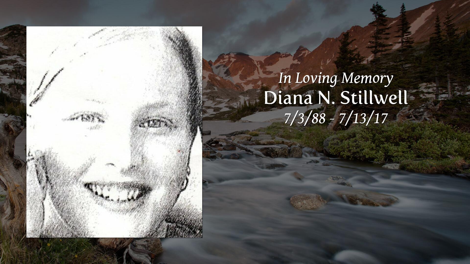 Obituary | Diana N  Stillwell of Browns Mills, New Jersey
