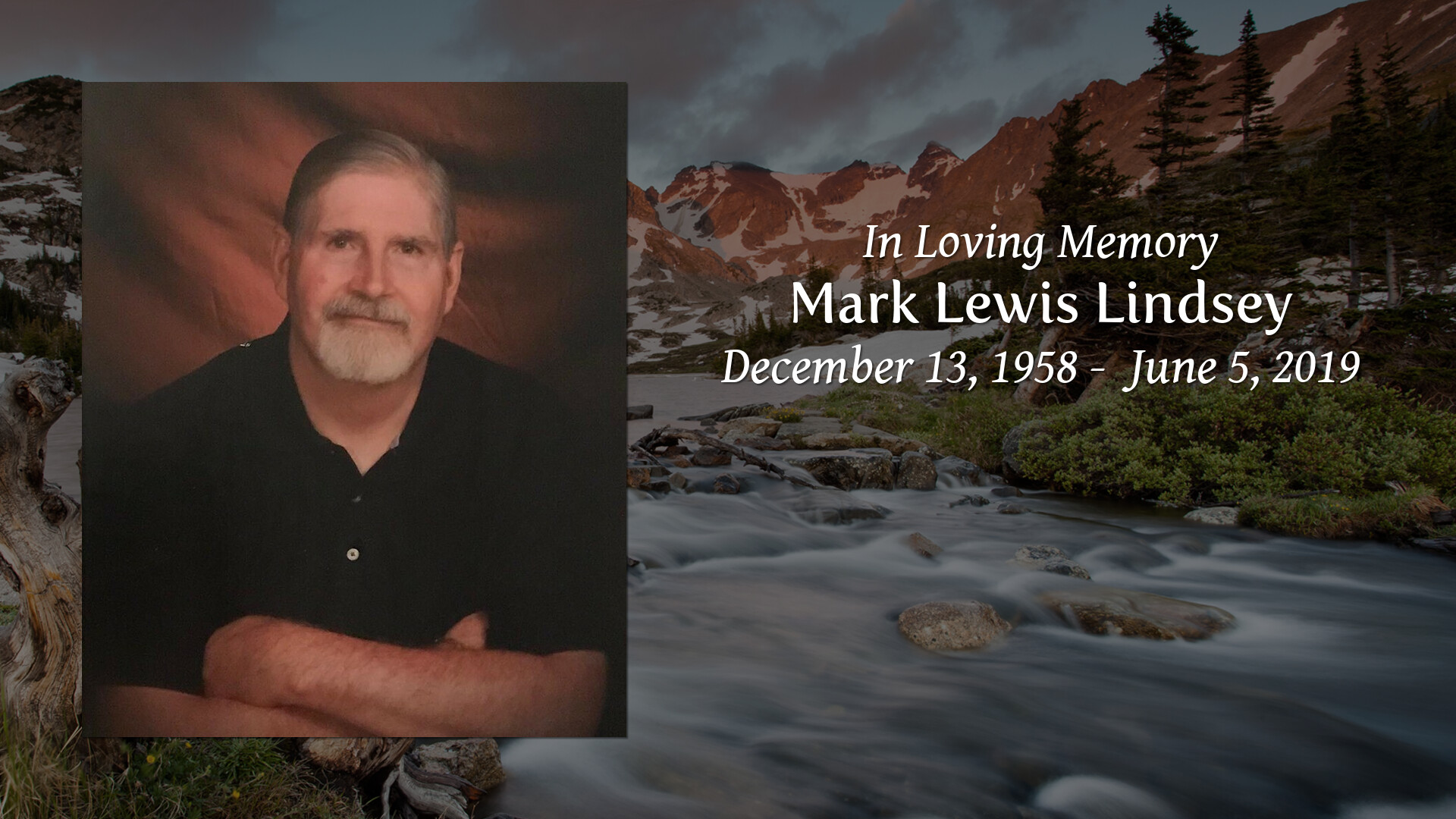 Obituary of Mark Lewis Lindsey | Farmer Funeral Home - Proudly serv