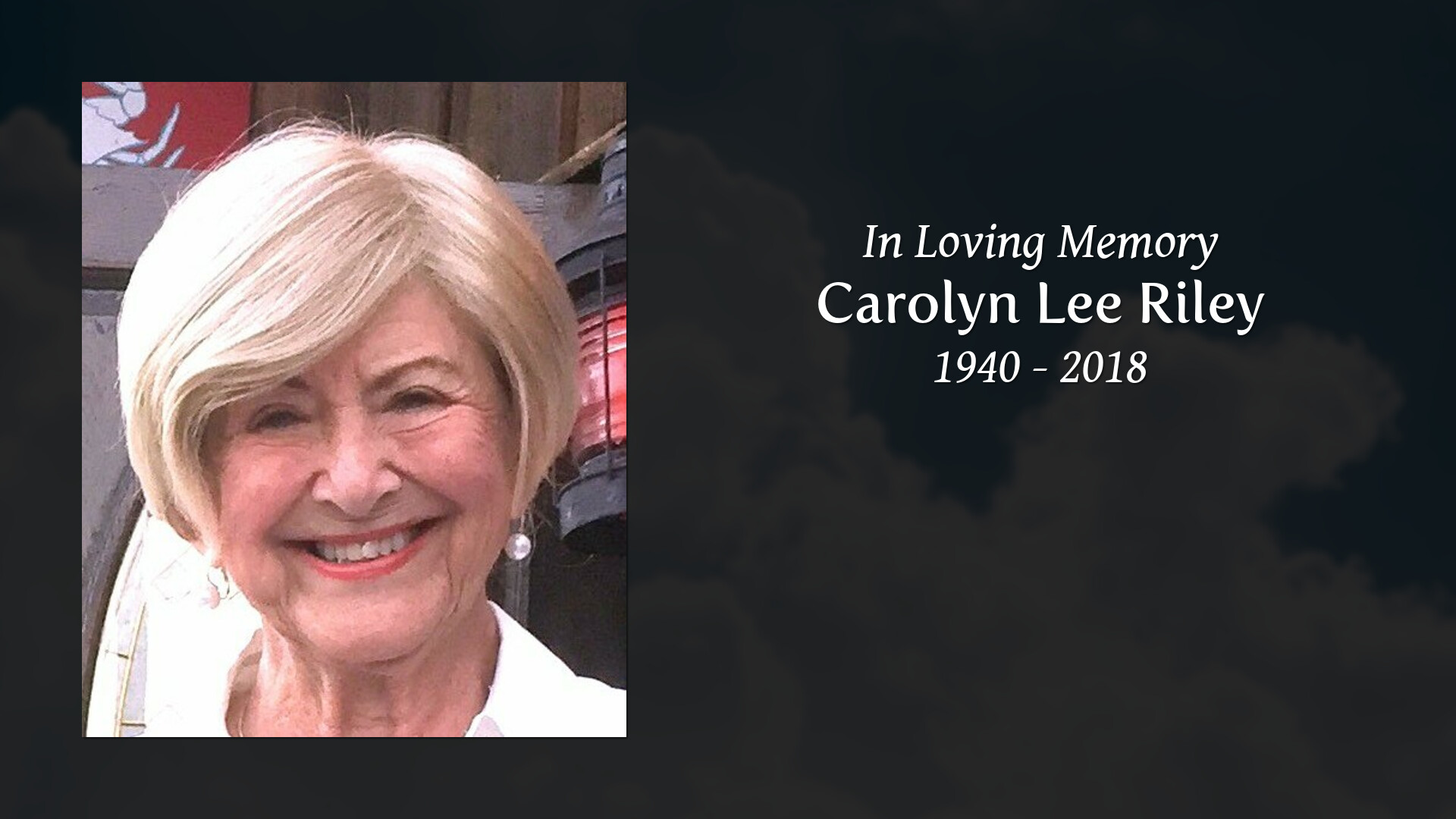 Obituary of Carolyn Lee Riley | Hummel Funeral Homes and
