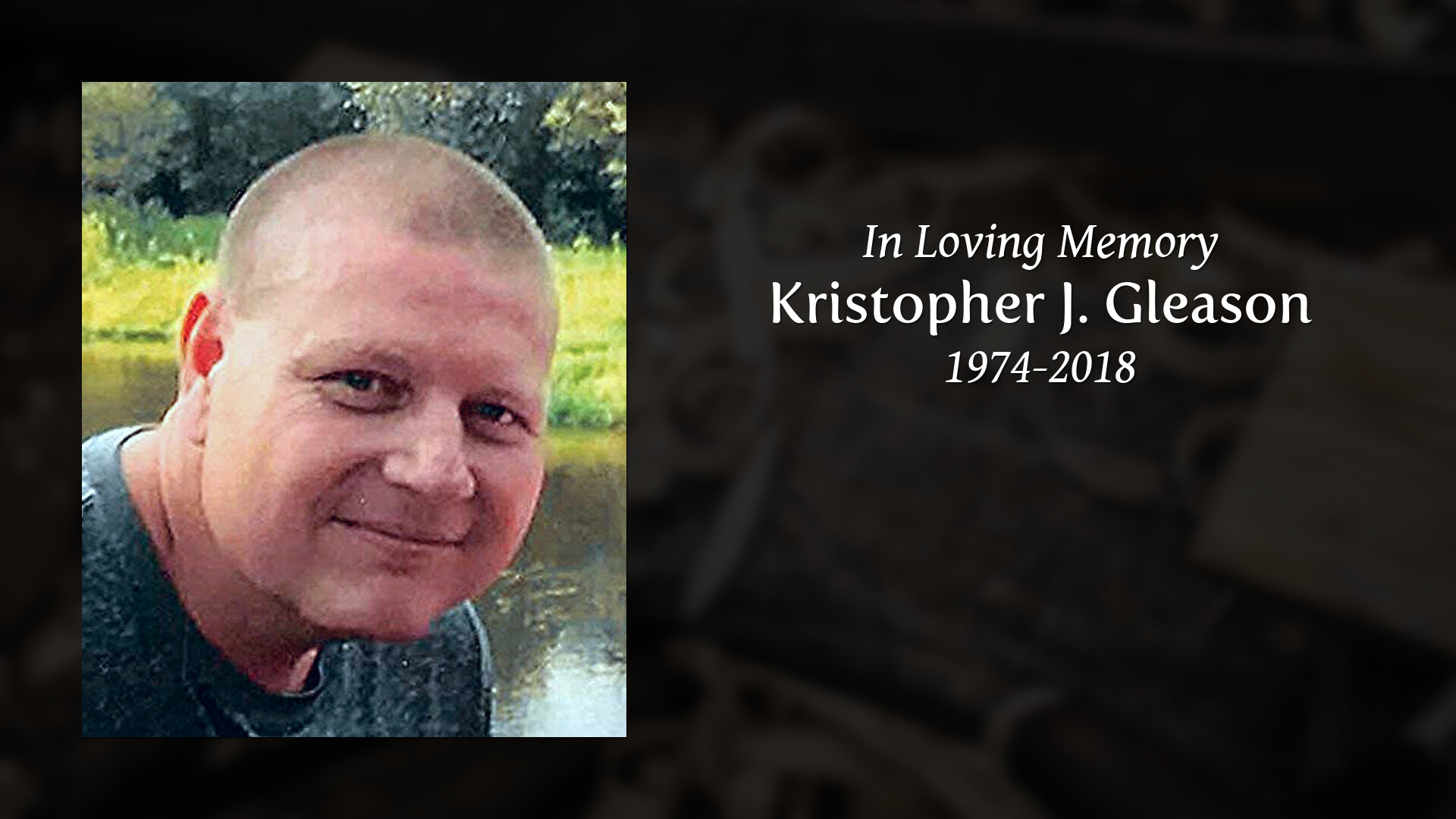 Kristopher J  Gleason | Obituaries | Anderson Funeral & Cremation