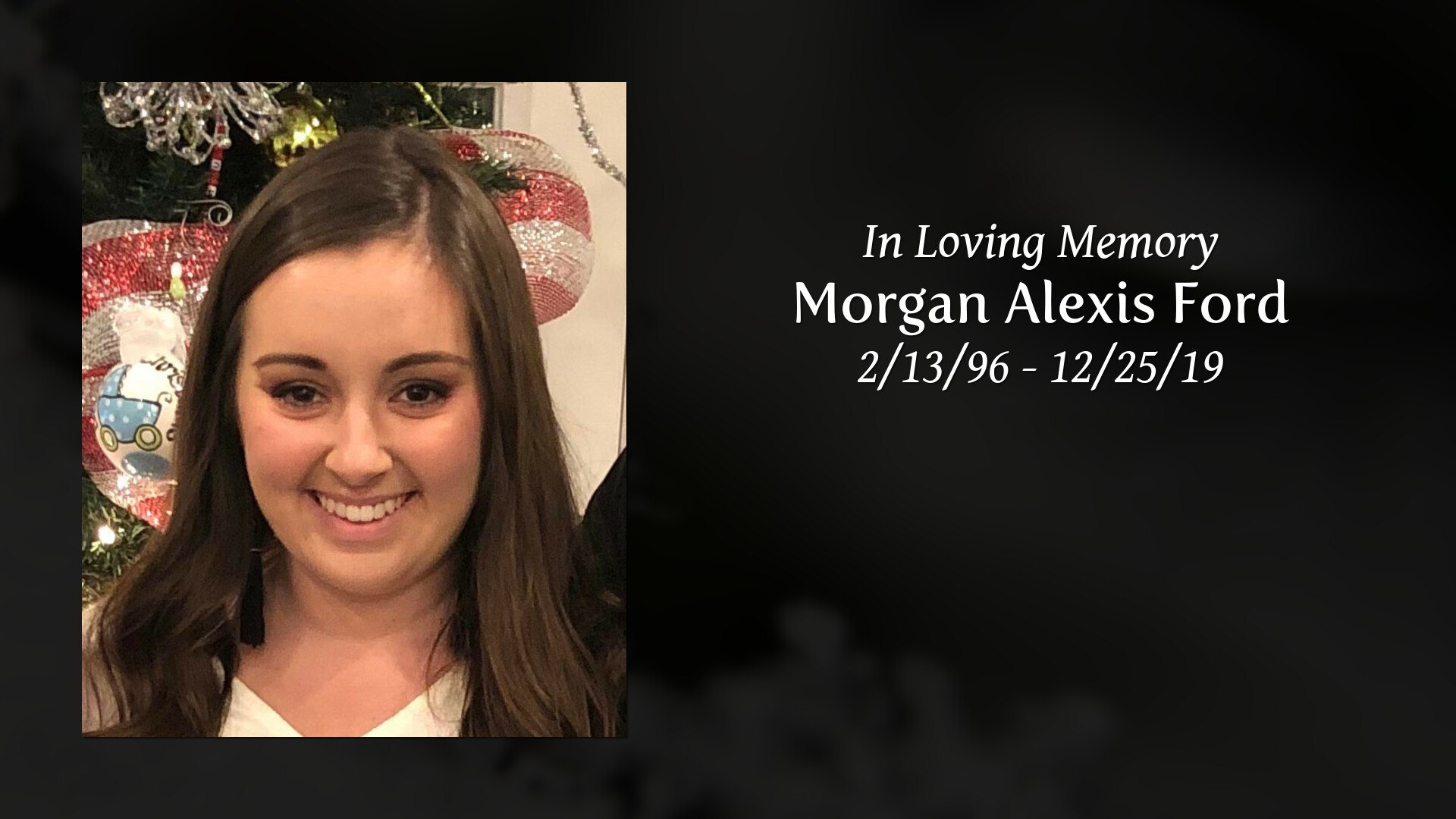 Alexis Ford obituary | morgan alexis ford of madisonville, kentucky