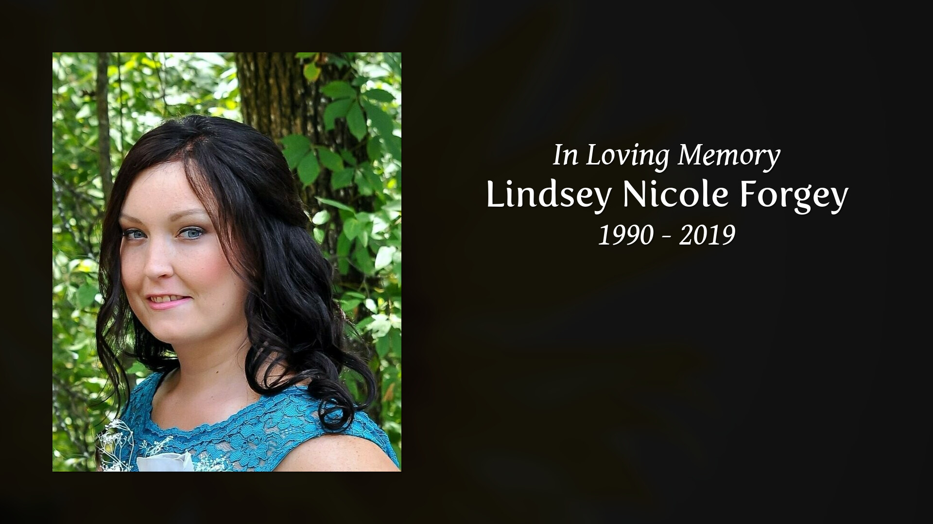 Obituary of Lindsey Nicole Forgey | Sellars Funeral Homes located i