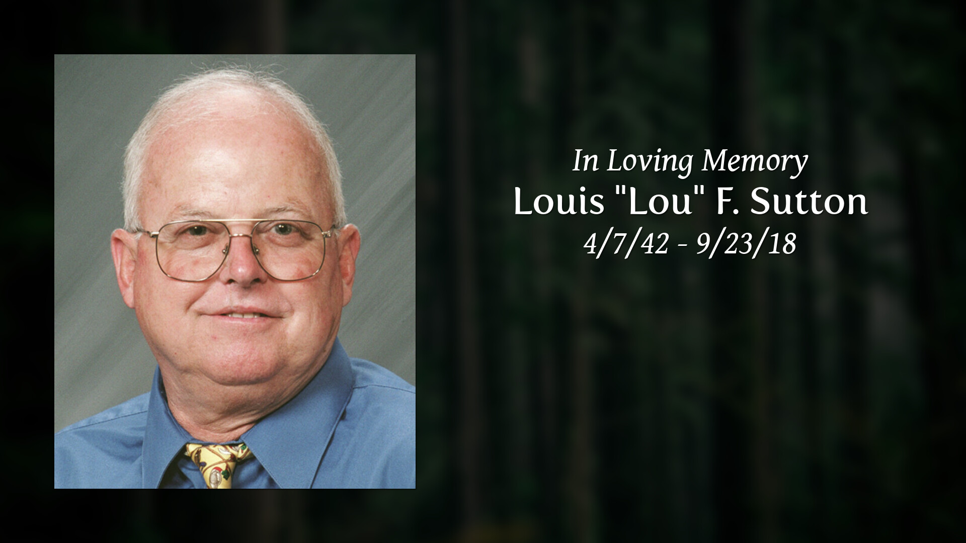 Obituary | Louis