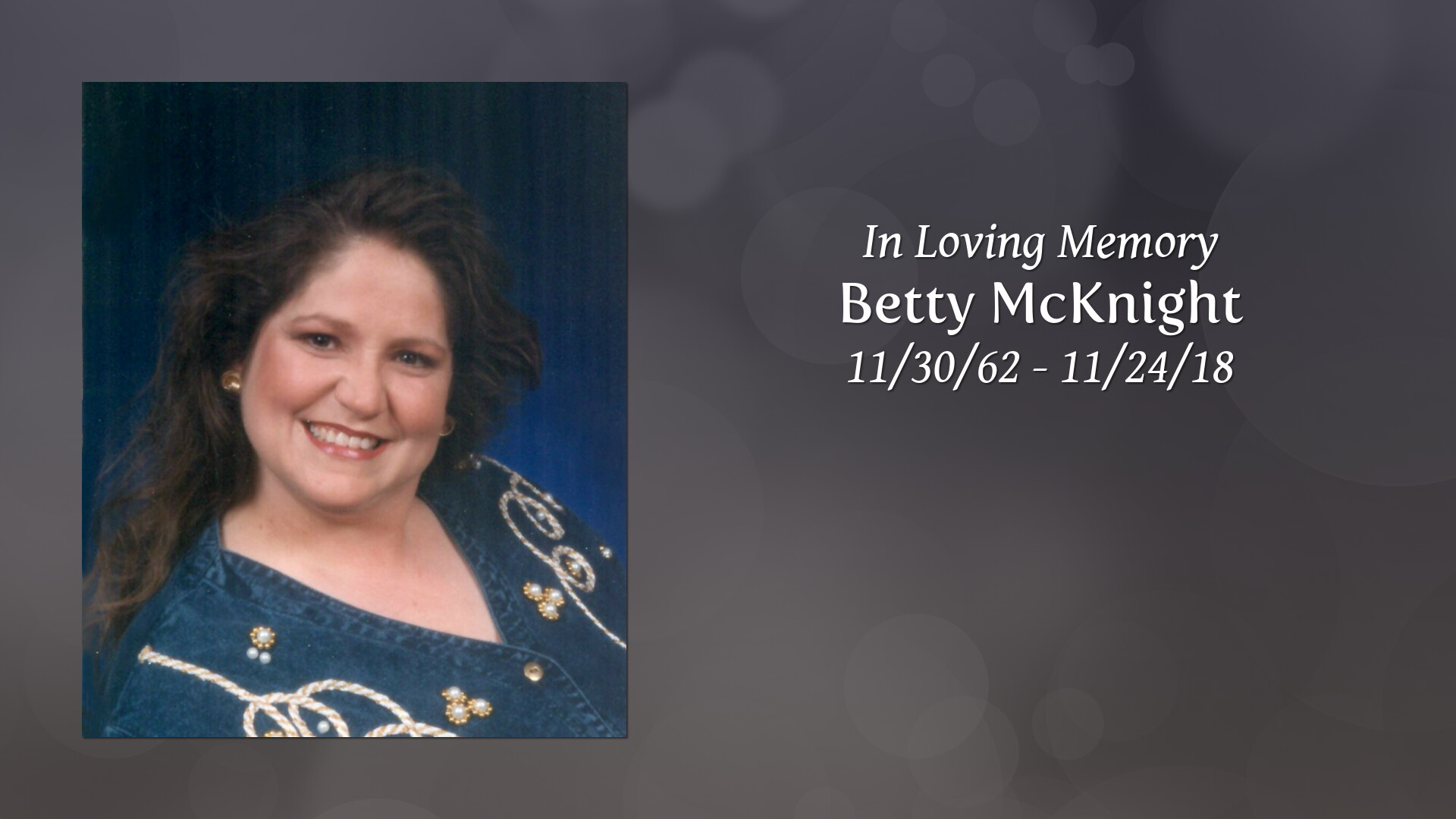 Obituary | Betty McKnight | Miles Funeral Service