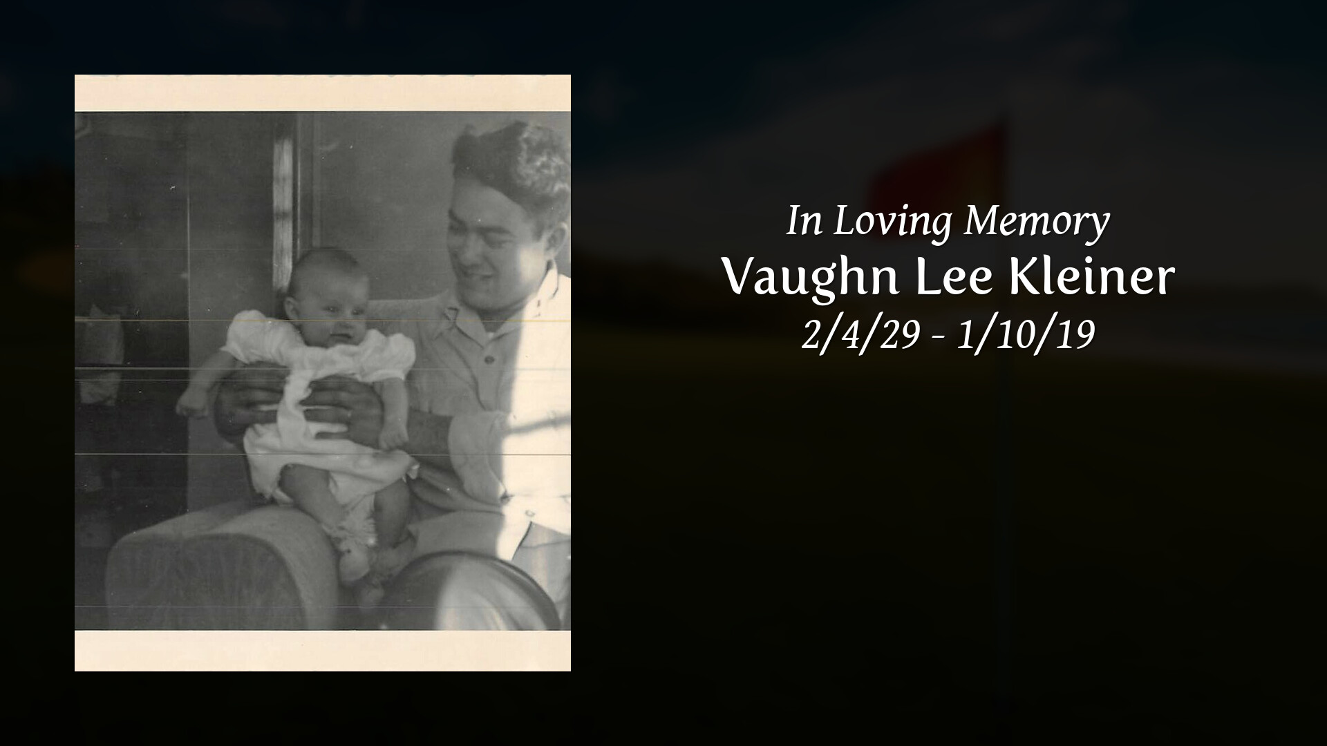 Obituary | Vaughn Lee Kleiner of Wamego, Kansas | Stewart Funeral Home