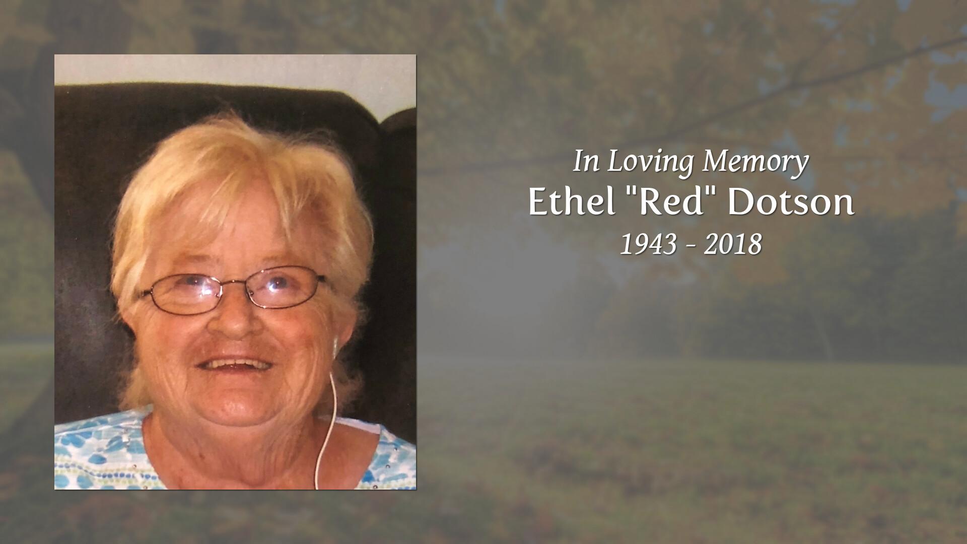 Obituary for Ethel