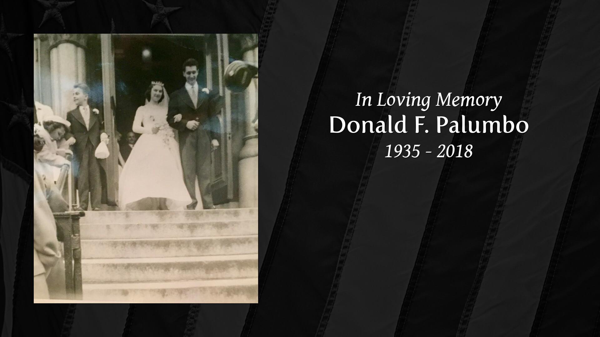 Obituary of Donald F  Palumbo