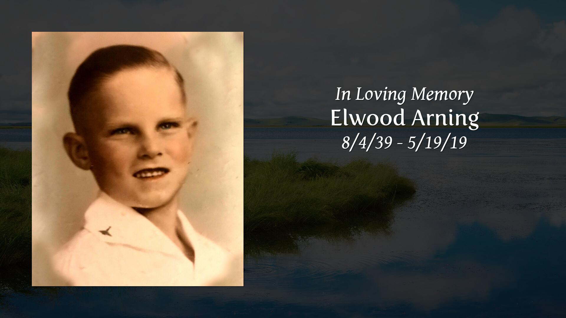 Obituary | Elwood Arning of Bellville, Texas | KNESEK FAMILY