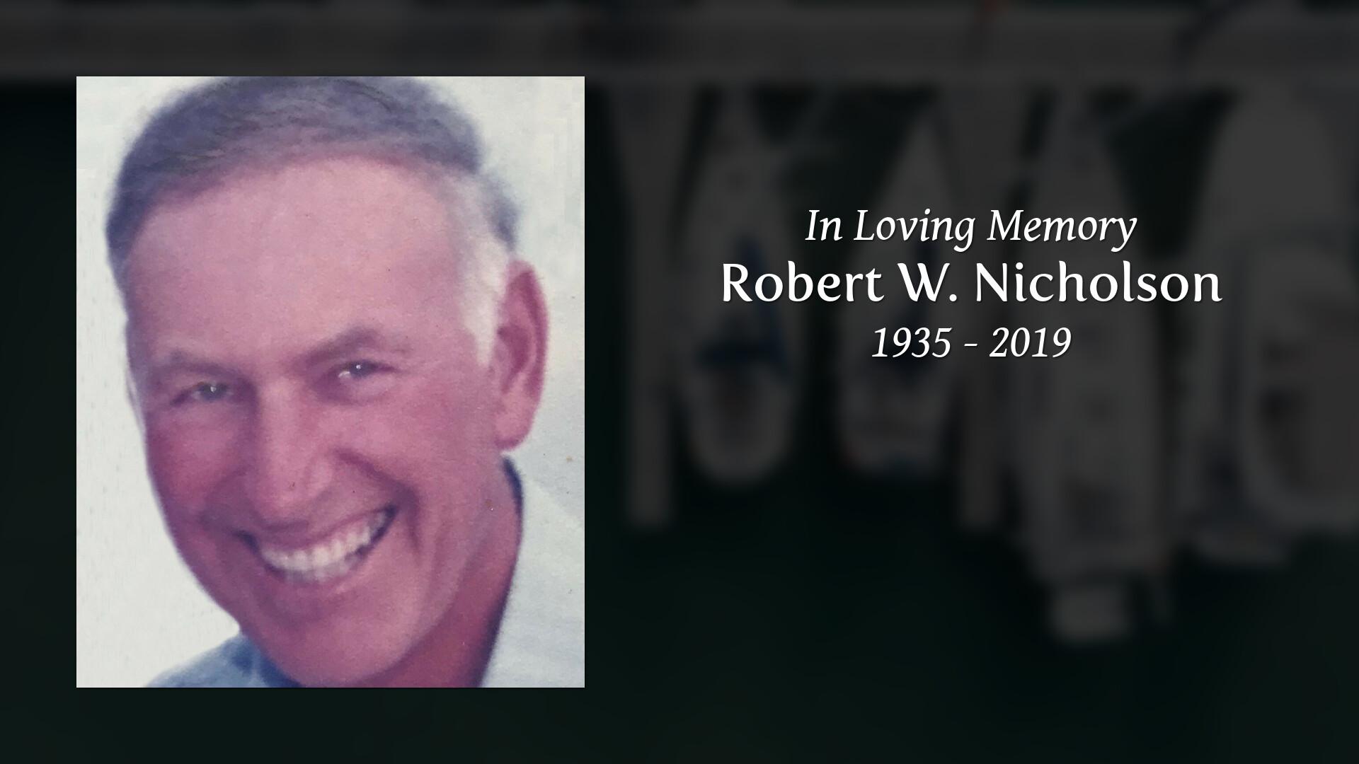 Robert Nicholson Obituary, Warwick, Rhode Island