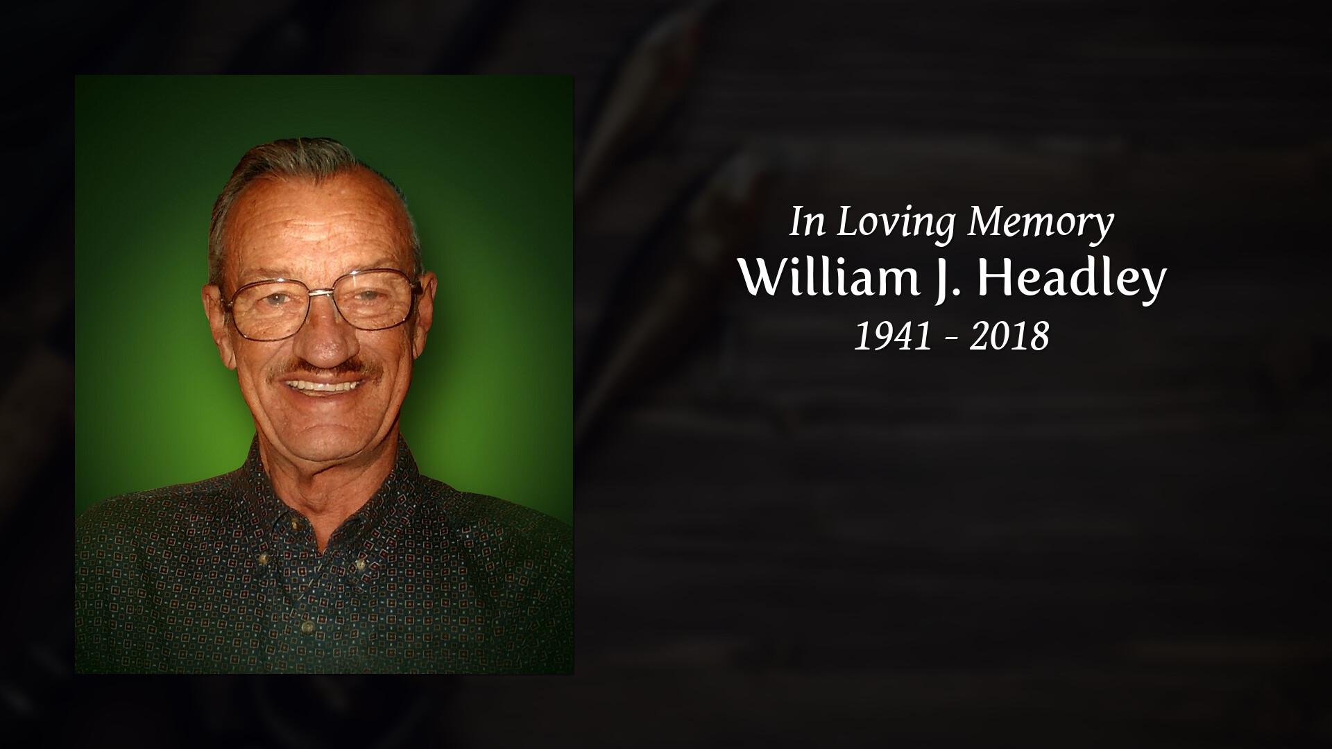 b001636da1f Obituary of William J. Headley