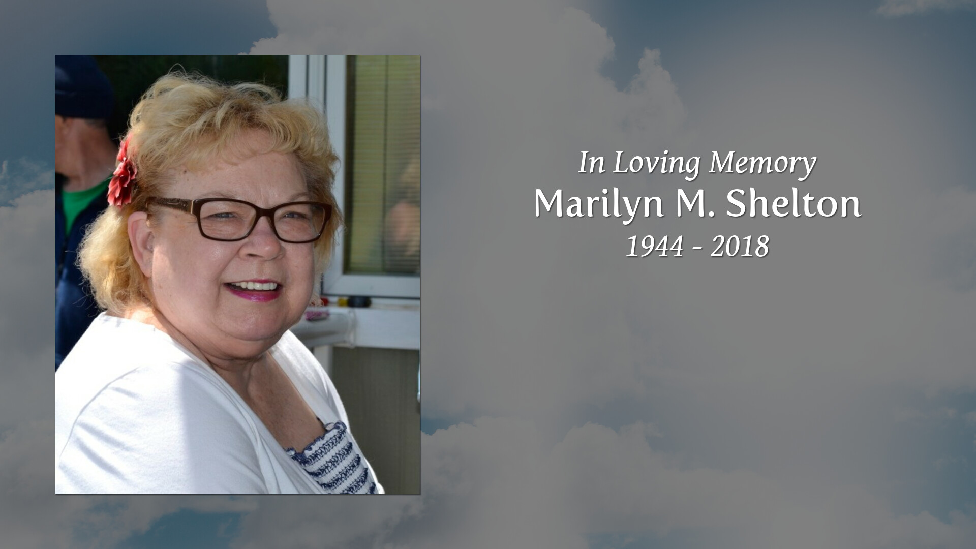 Johnson Cremation & Funeral Service - Marilyn Marie Shelton