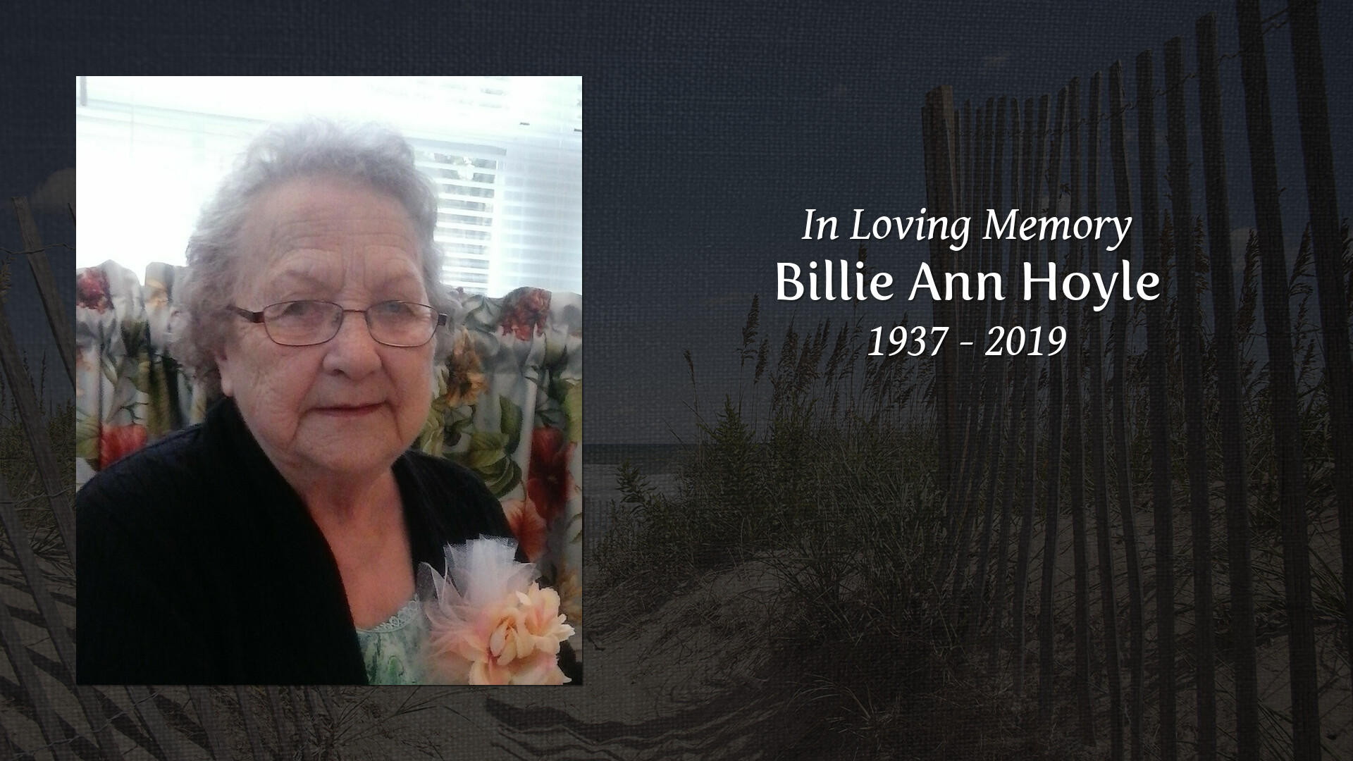Obituary for Billie Ann Hoyle | Cleveland Funeral Services