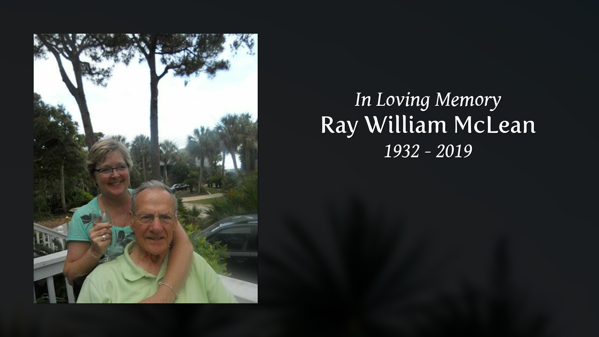 Obituary for Ray William McLean | Wells Funeral Homes, Inc