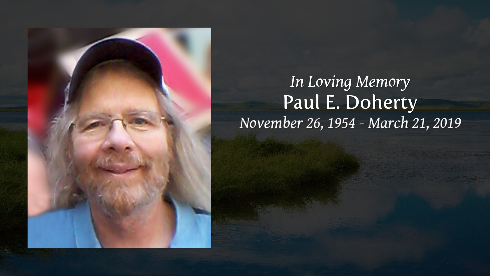 Obituary | Paul E  Doherty | Dyer-Lake Funeral Home