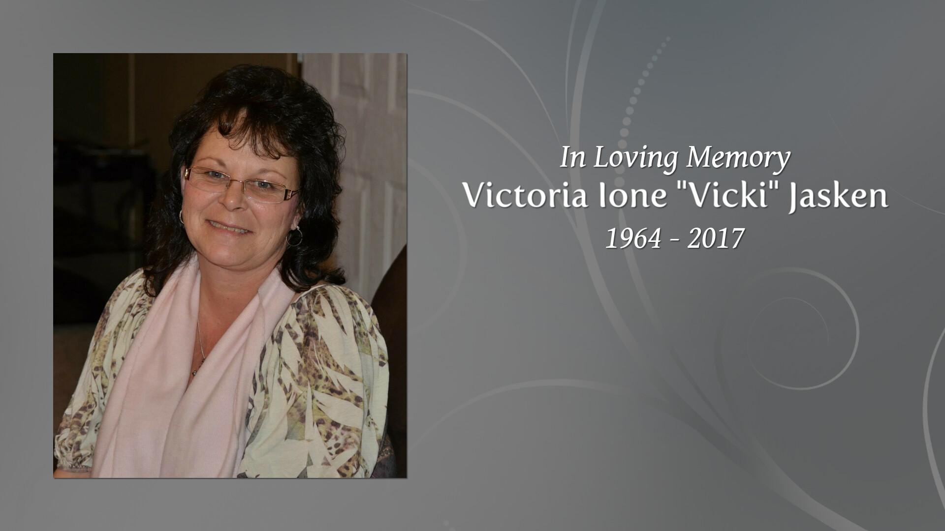 Obituary for Victoria Ione