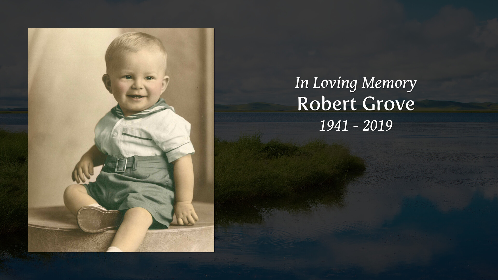 Obituary for Robert Grove | Harvey Anderson & Johnson