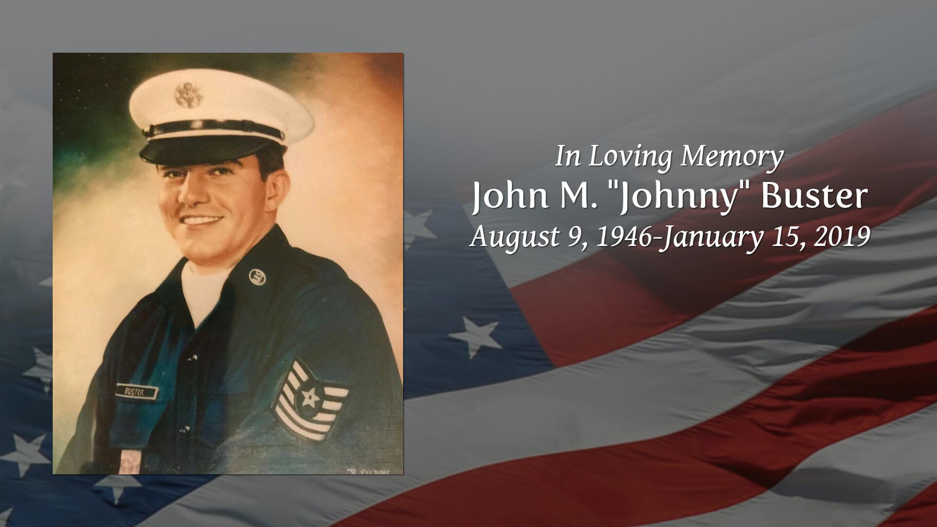 Obituary | Johnny Buster of Columbus, Mississippi | Memorial Gunter