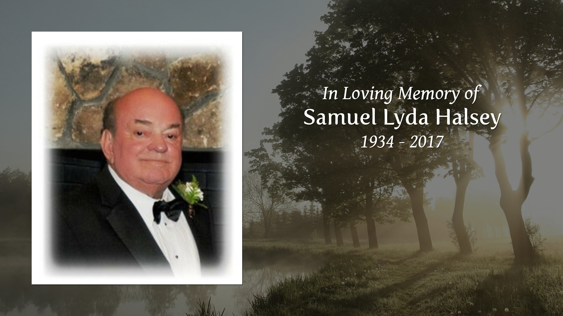 Obituary of Samuel Lyda Halsey | Welcome to Boone Family