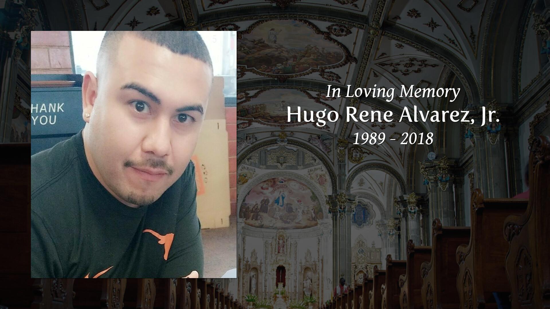 Obituary of Hugo Rene Alvarez, Jr  | Mission Funeral Homes