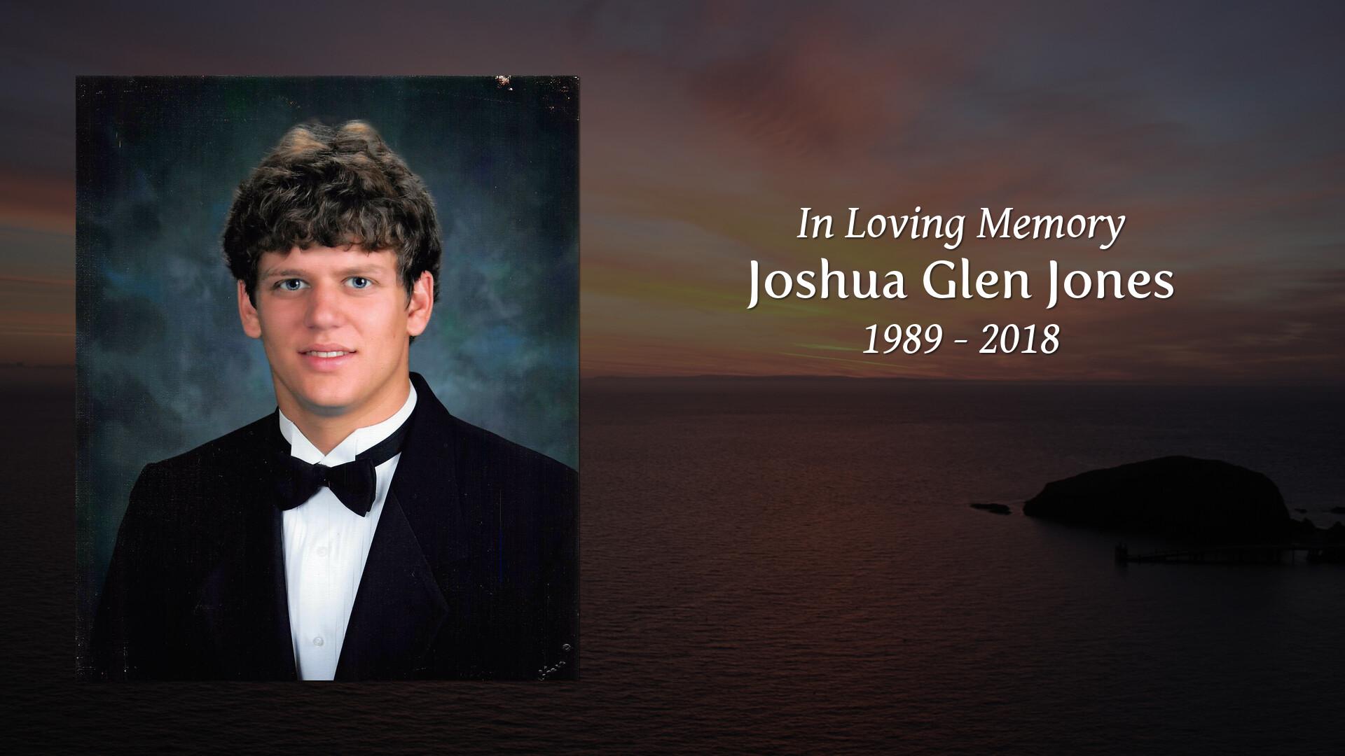 Obituary for Joshua Glen Jones | Crumpler - Honeycutt Funeral Home
