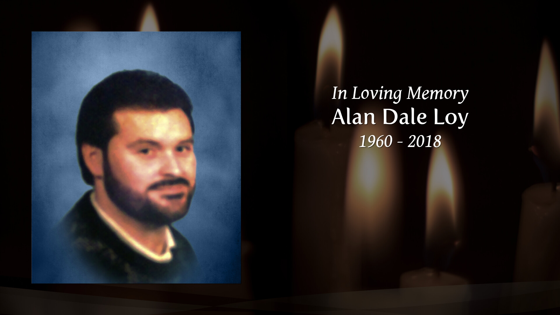 Obituary for Alan Dale Loy | Max Brannon and Sons Funeral Home